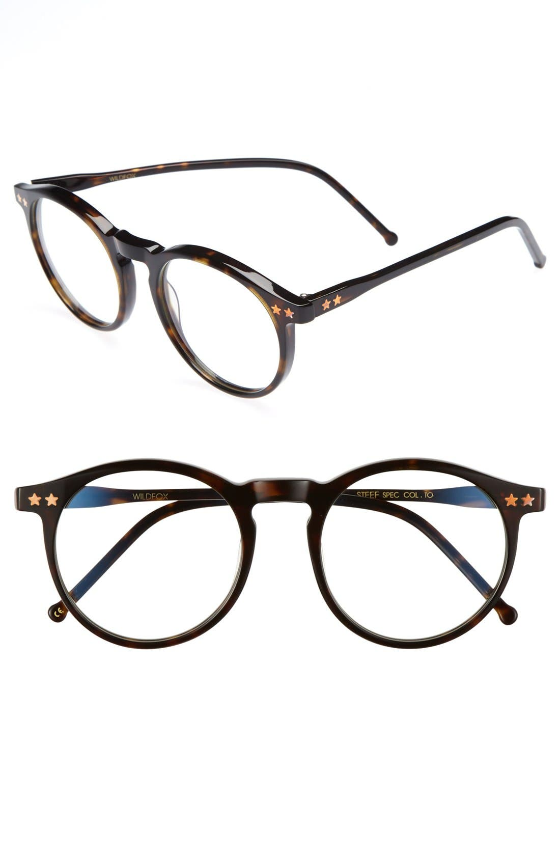 Alternate Image 1 Selected - Wildfox 'Steff' 54mm Optical Glasses