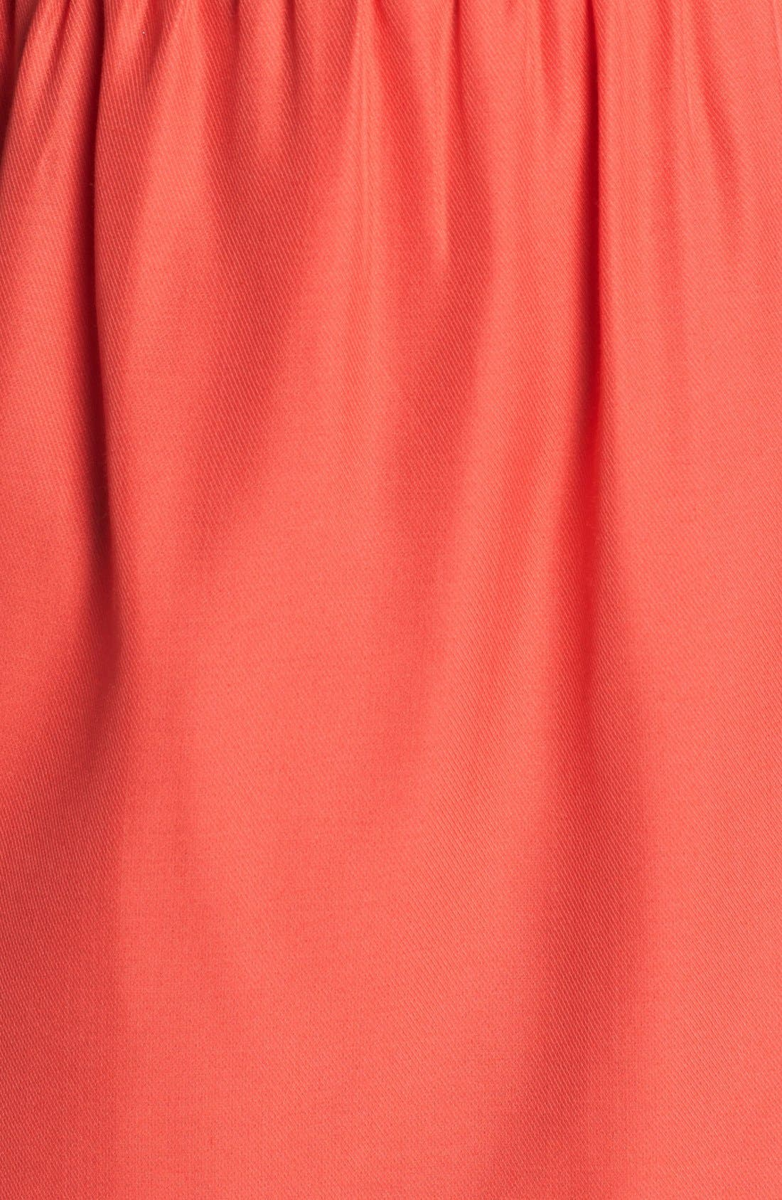 Alternate Image 3  - Jenny Yoo 'Lulu' Ruffled One-Shoulder Sheath Dress (Online Only)