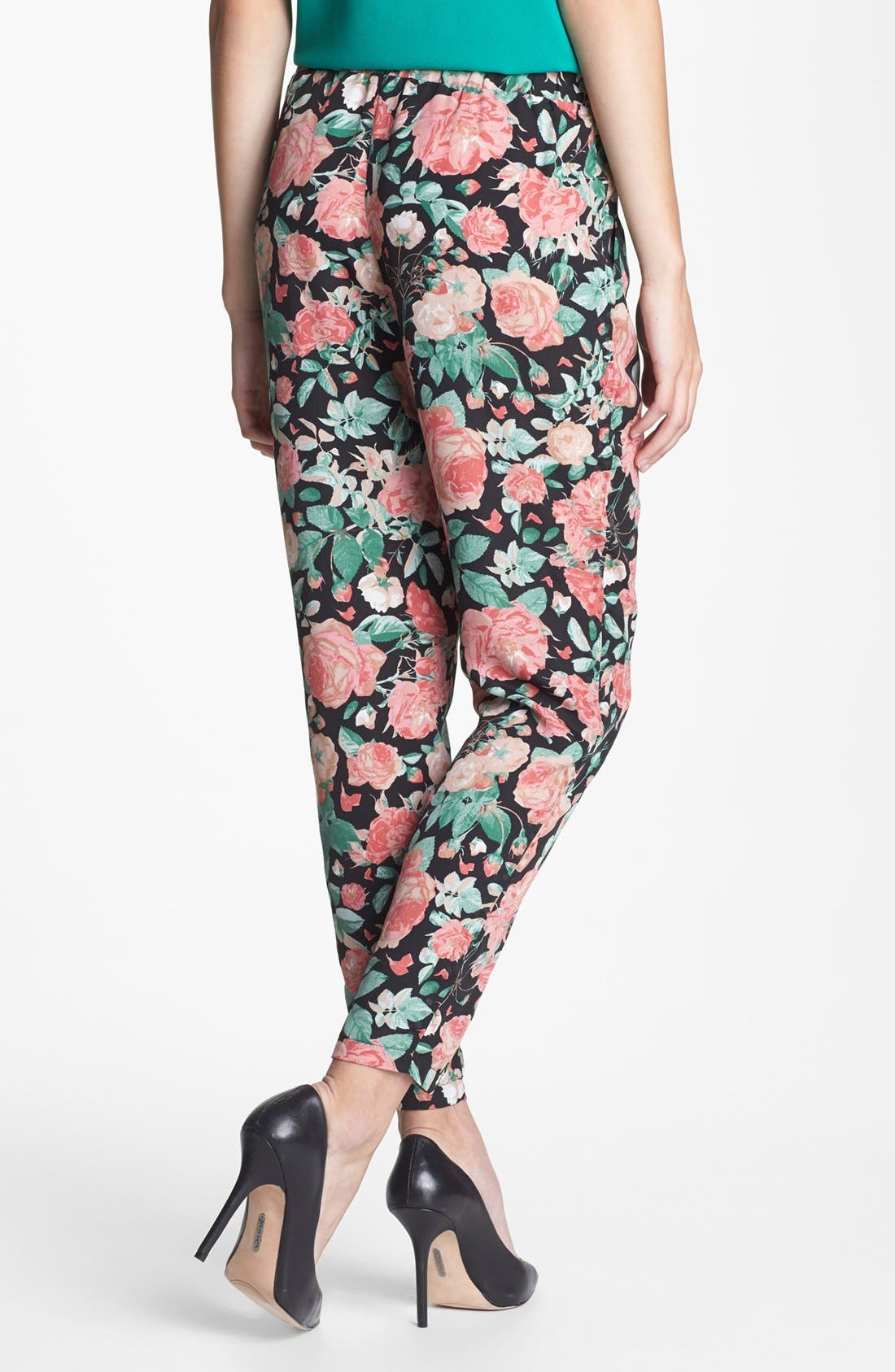 Alternate Image 2  - Lovers + Friends 'Bright Eyes' Floral Print Pants