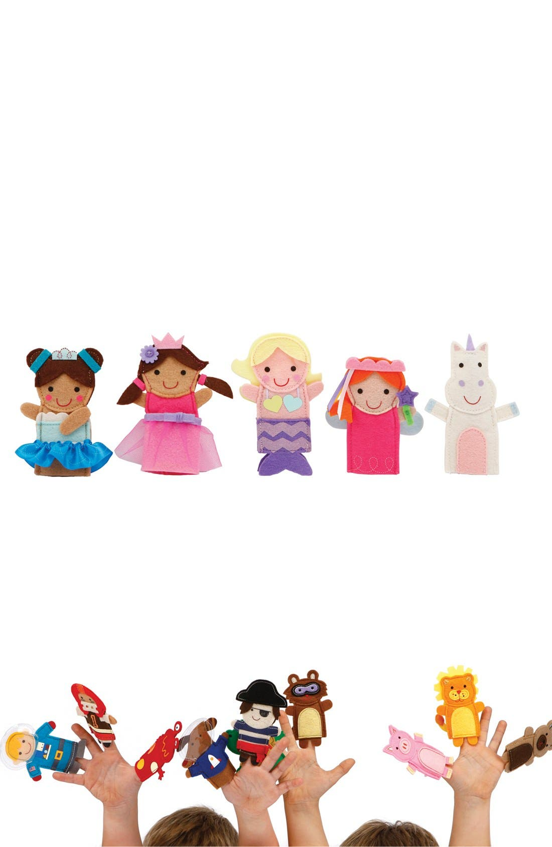 Alternate Image 1 Selected - C.R. Gibson 'Fantasy Friends' Finger Puppets (Set of 5)