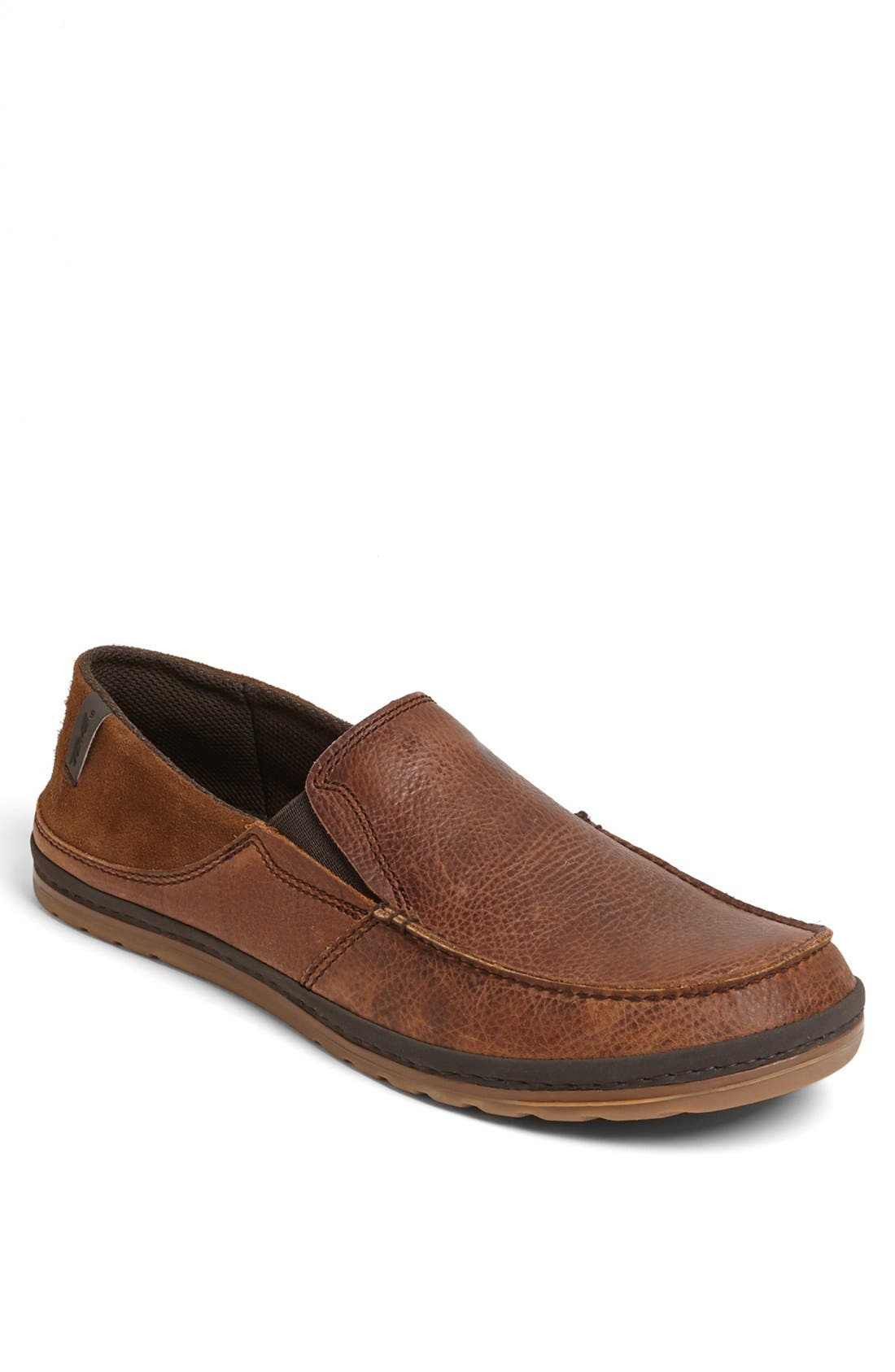 Main Image - Teva 'Clifton Creek' Leather Driving Moccasin