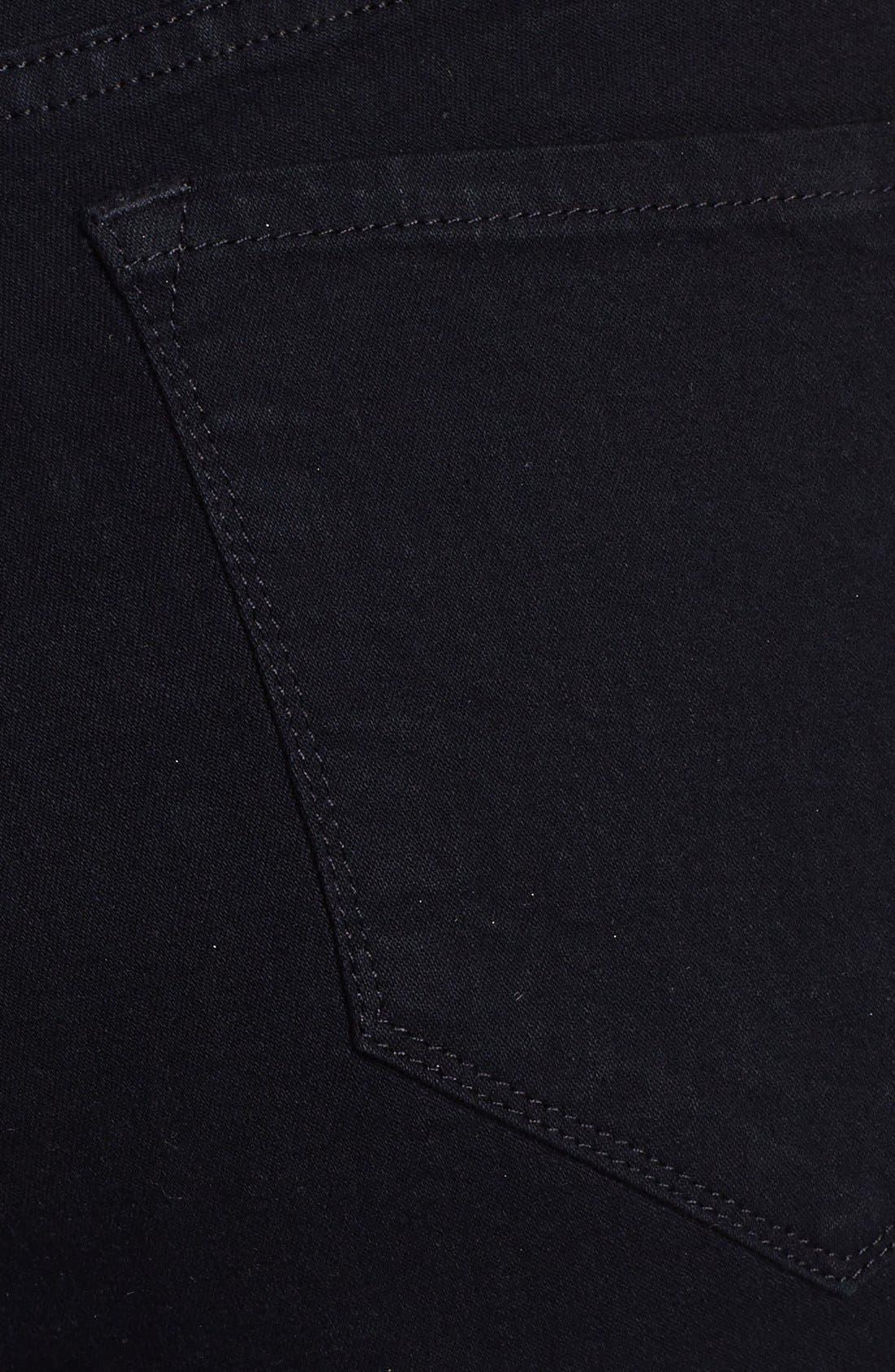Alternate Image 3  - NYDJ 'Sheri' Embellished Trim Stretch Skinny Jeans (Plus Size)