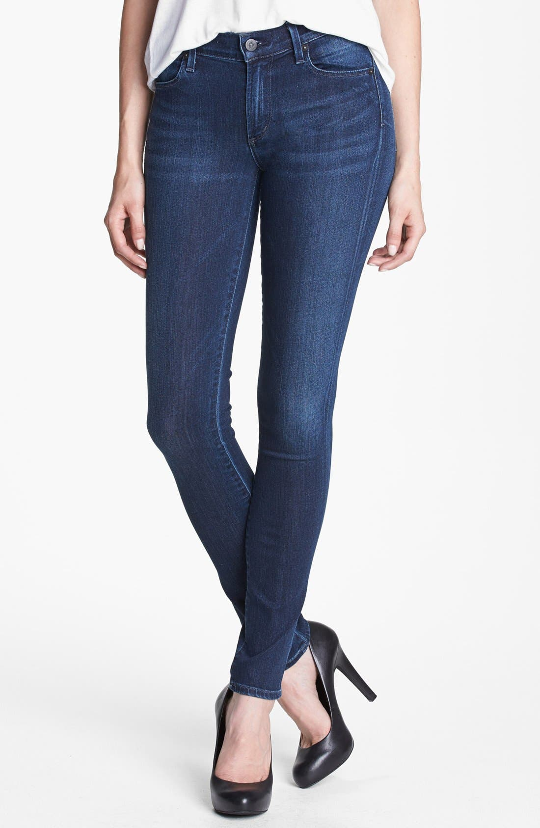 Alternate Image 1 Selected - Citizens of Humanity Skinny Jeans (Omni D Blue)