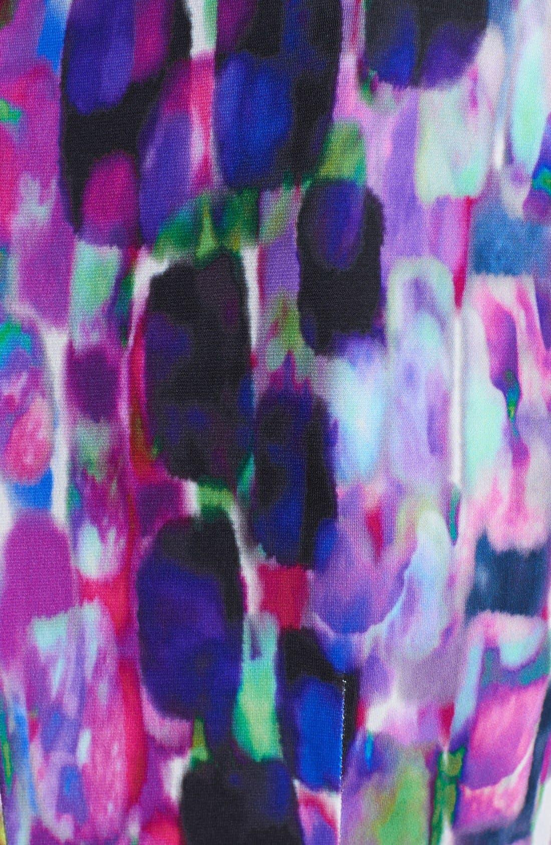 Alternate Image 3  - Ivy & Blu Print Jersey Dress (Petite)