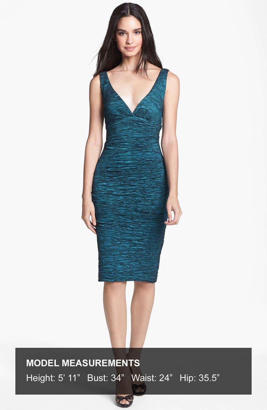Alternate Image 4  - Xscape Crinkled Empire Sheath Dress