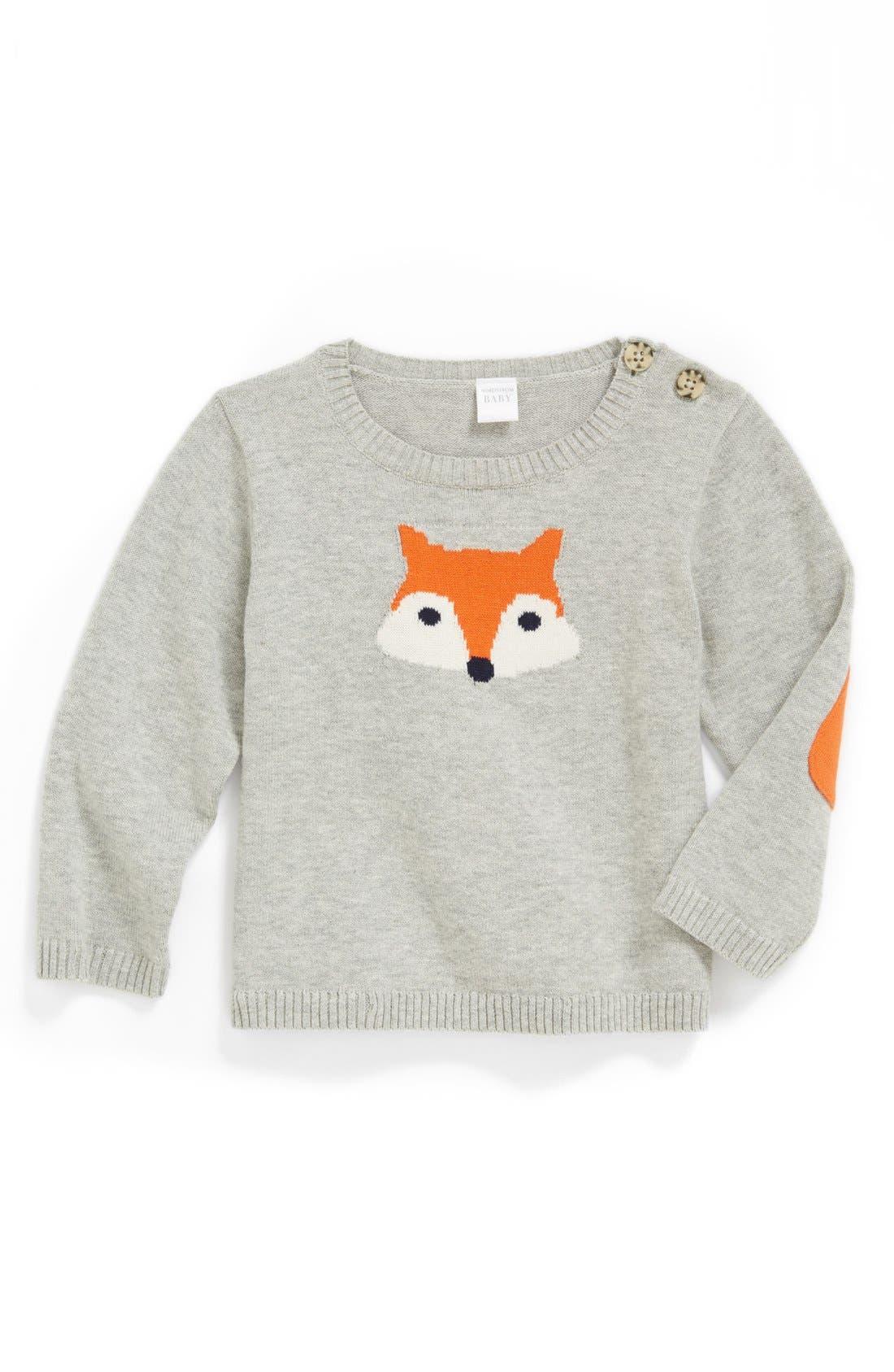 Main Image - Nordstrom Baby Intarsia Knit Sweater (Baby Boys)