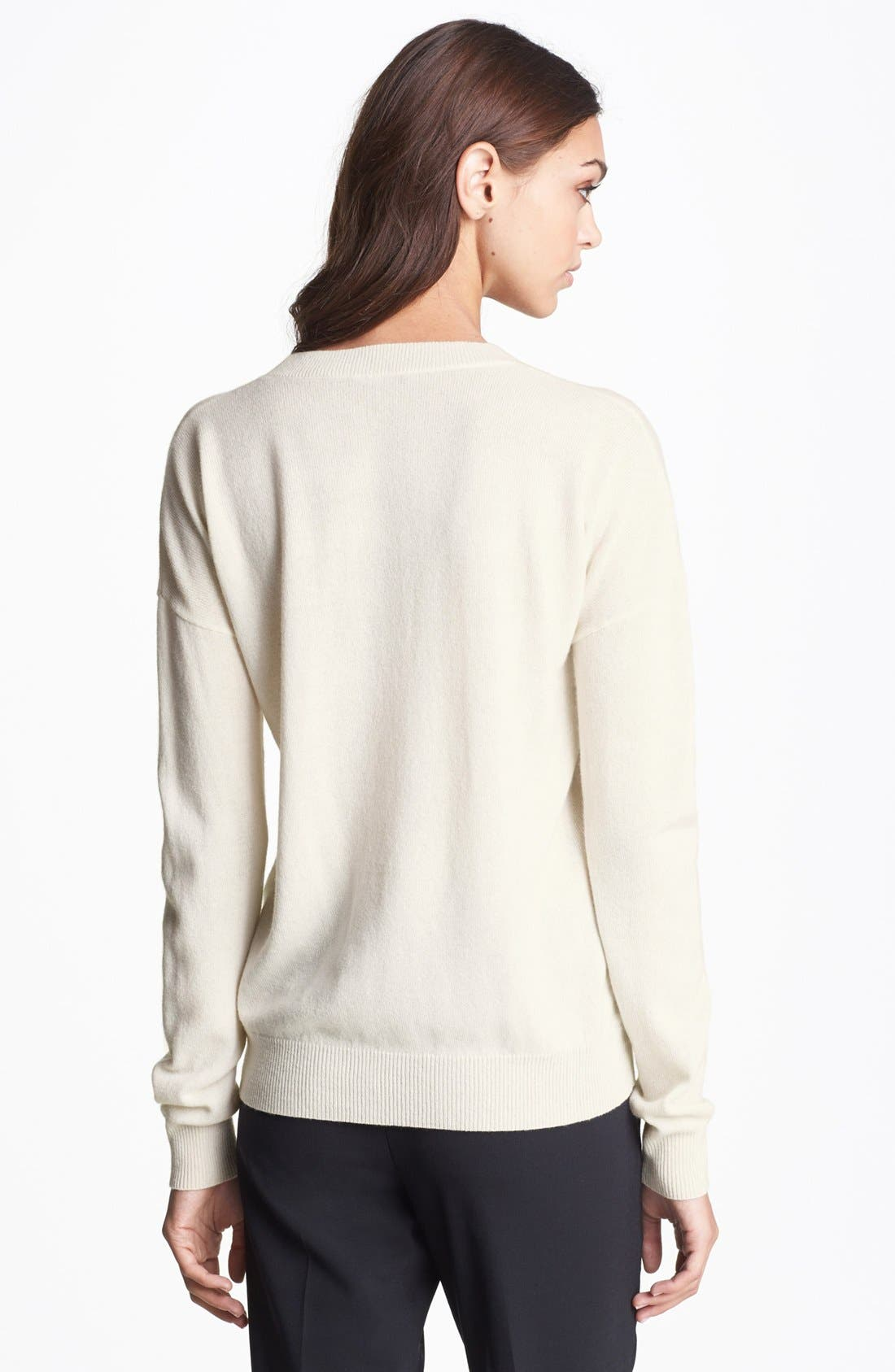 Alternate Image 2  - Theory 'Tollie' Cashmere Sweater
