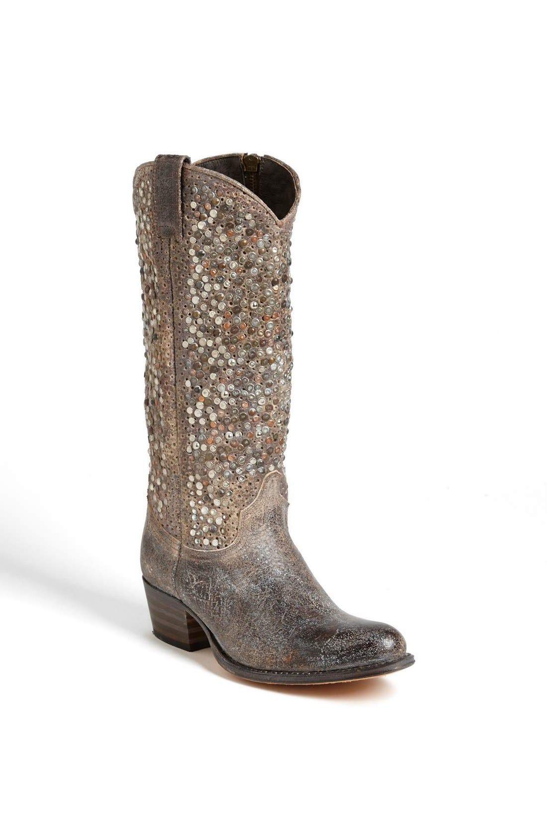 Alternate Image 1 Selected - Frye 'Deborah' Studded Boot