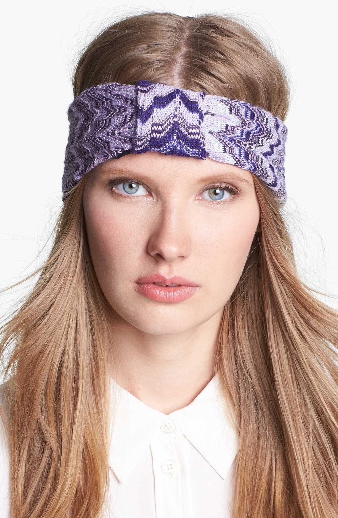 Alternate Image 1 Selected - Missoni Tonal Wave Head Wrap