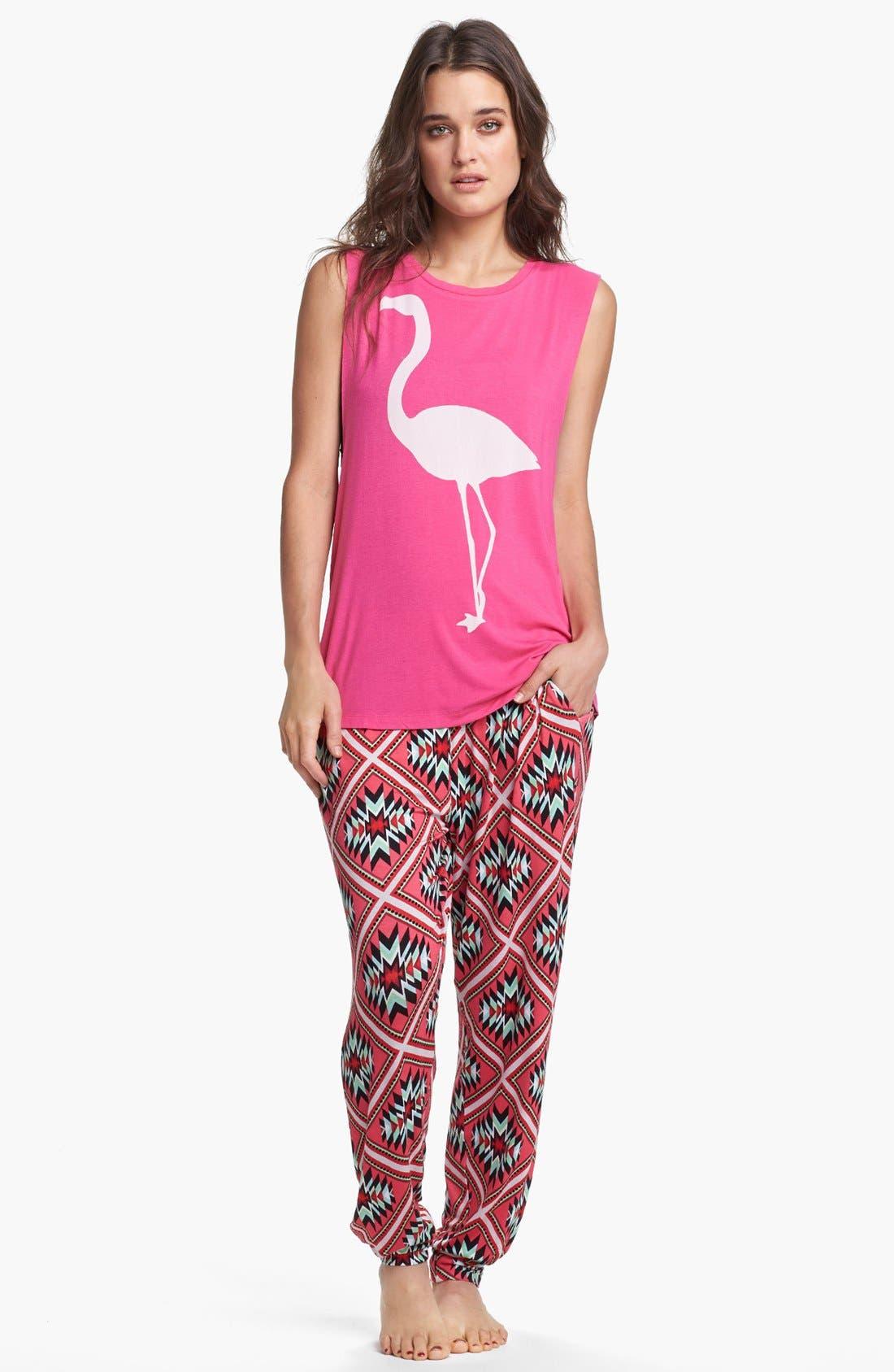 Alternate Image 3  - Sleep'N Round Harem Pajama Pants