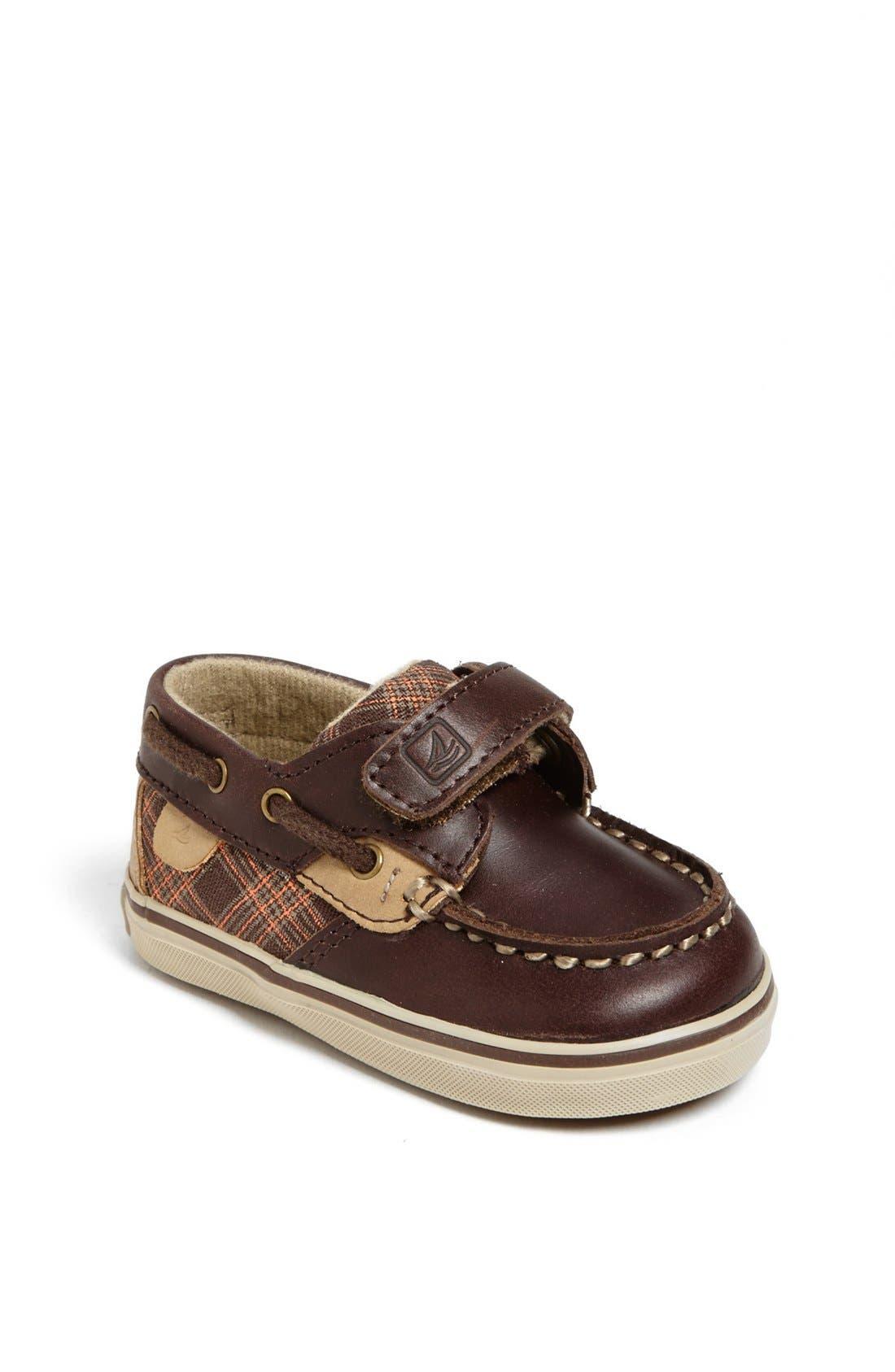 Alternate Image 1 Selected - Sperry Kids 'Bluefish' Crib Shoe (Baby)