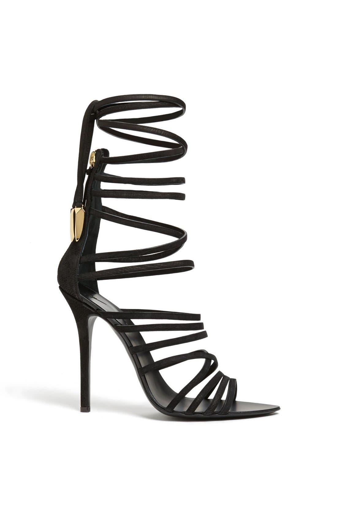 Alternate Image 2  - Giuseppe Zanotti 'Mortisia' Ankle Wrap Sandal