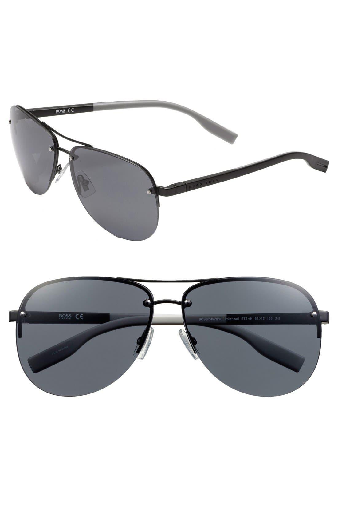 Alternate Image 1 Selected - BOSS 61mm Sunglasses