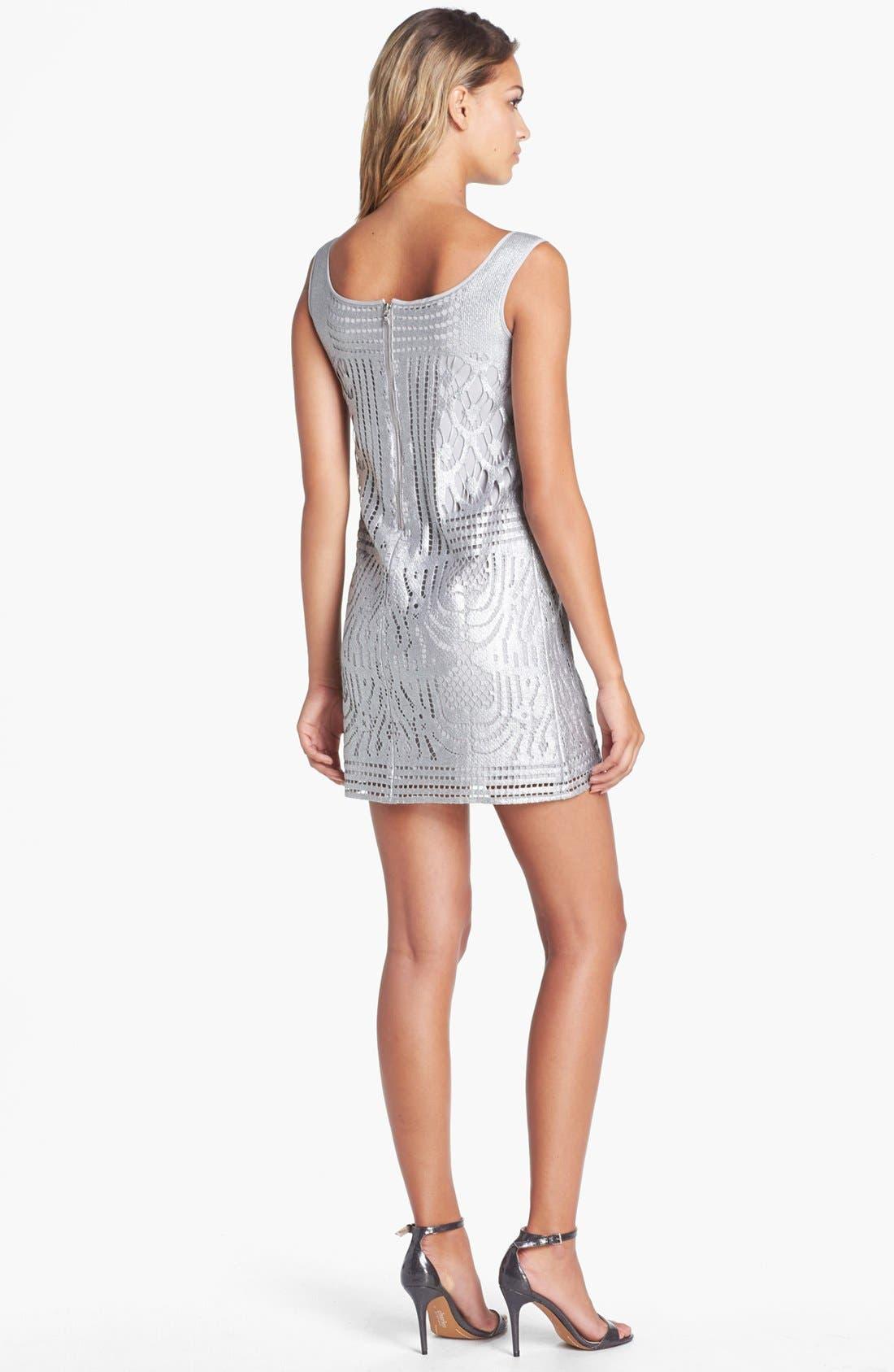 Alternate Image 2  - Lilly Pulitzer® 'Arlington' Foiled Lace Shift Dress