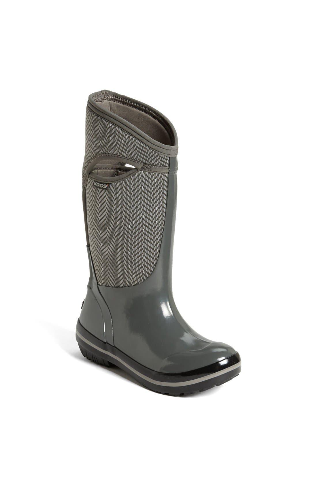 Alternate Image 1 Selected - Bogs 'Plimsoll' Tall Rain Boot (Women)