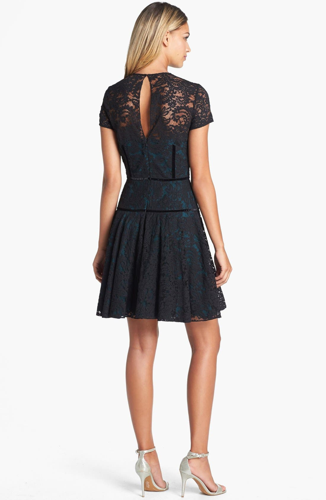 Alternate Image 2  - Jill Jill Stuart Lace Fit & Flare Dress