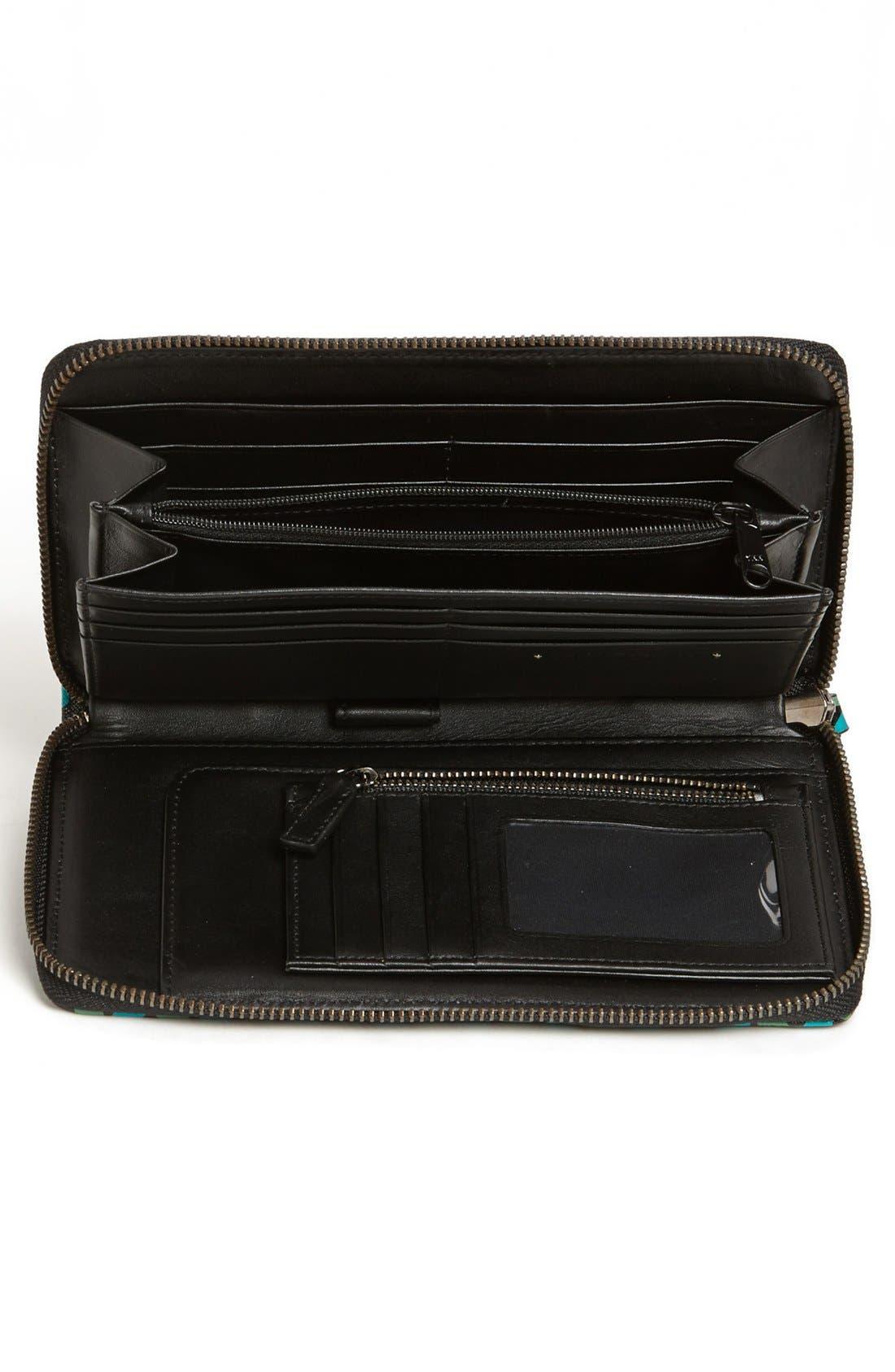 Alternate Image 2  - Halogen® Zip Around Wallet