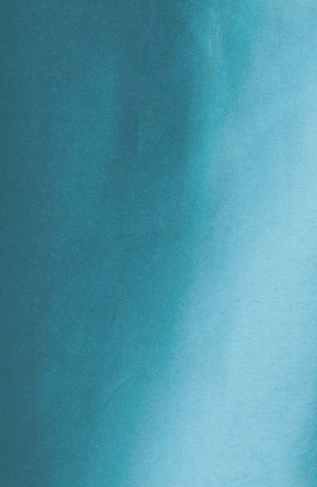 Alternate Image 3  - Alex Evenings Lace Yoke Satin Peplum Sheath Dress