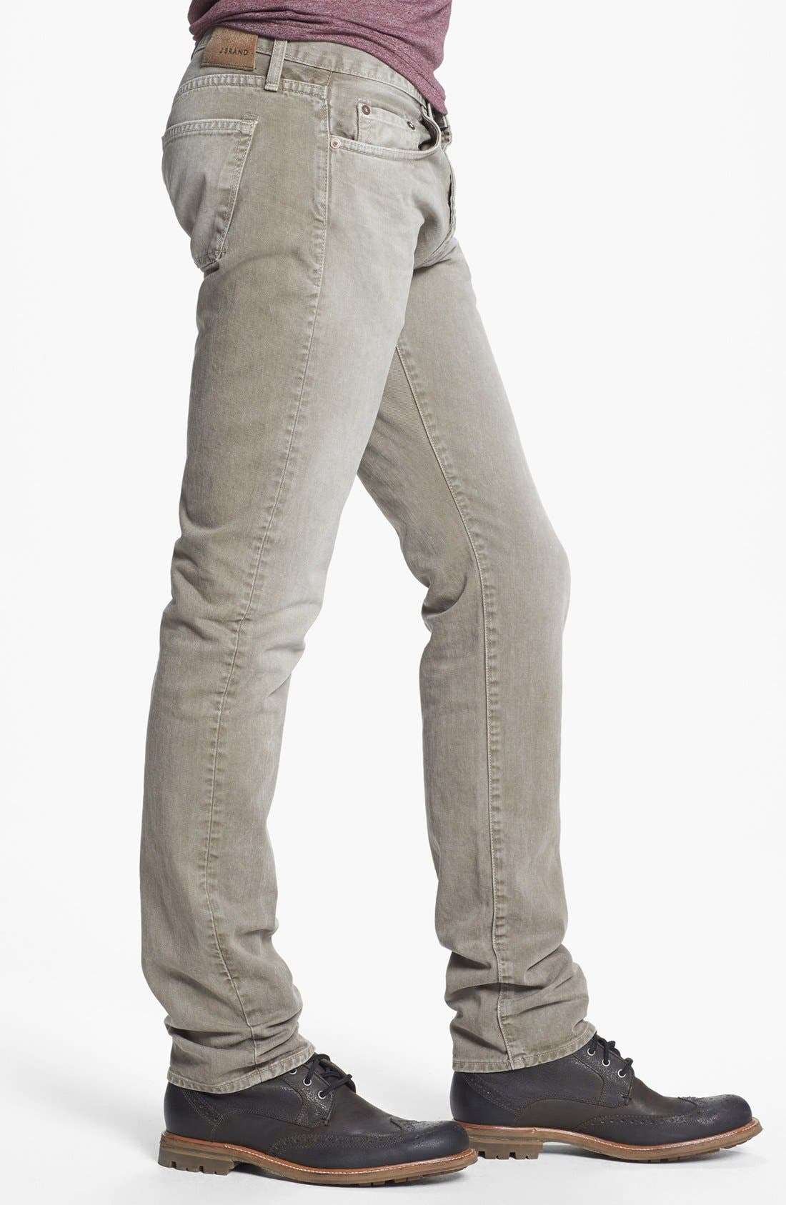 Alternate Image 3  - J Brand 'Kane' Slim Fit Jeans (Washed Boulder)