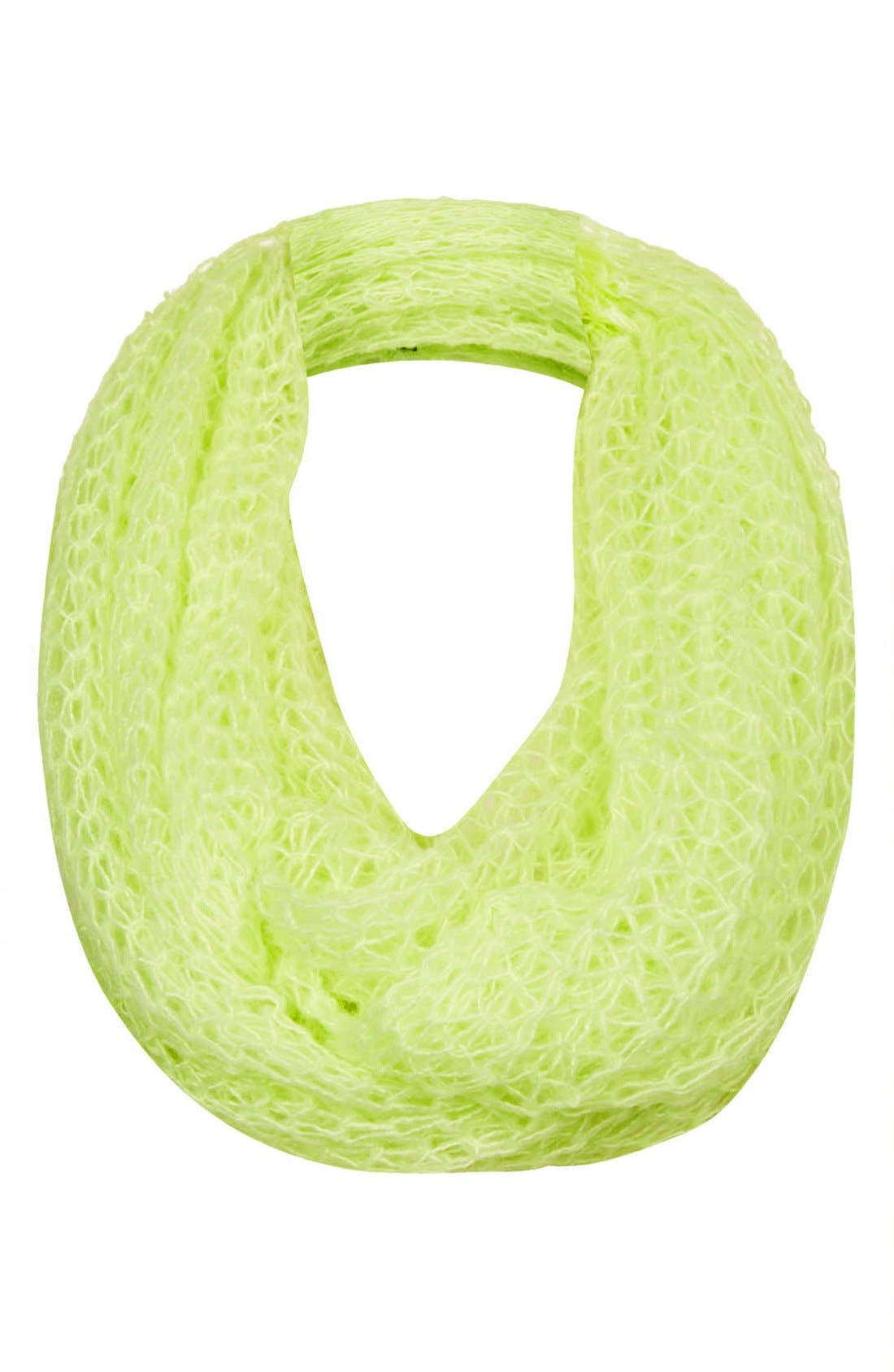 Alternate Image 1 Selected - Topshop Open Cobweb Infinity Scarf