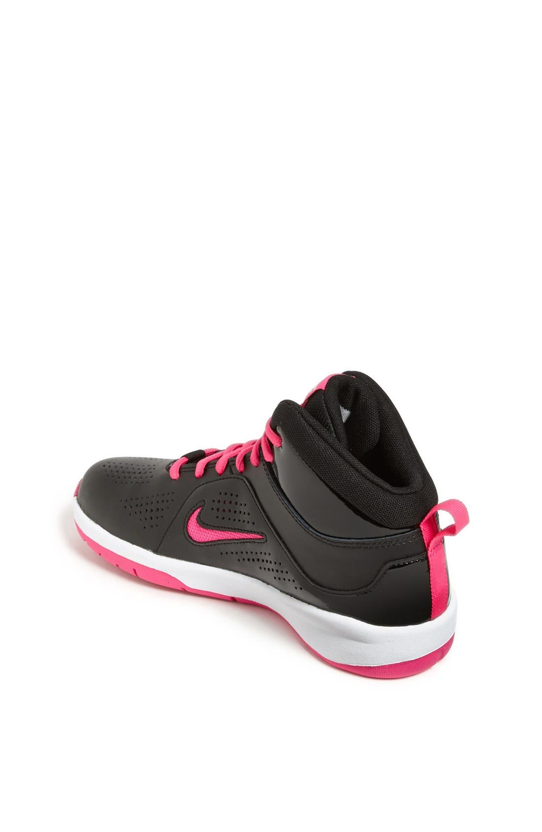Alternate Image 2  - Nike 'Team Hustle' Basketball Shoe (Toddler, Little Kid & Big Kid)