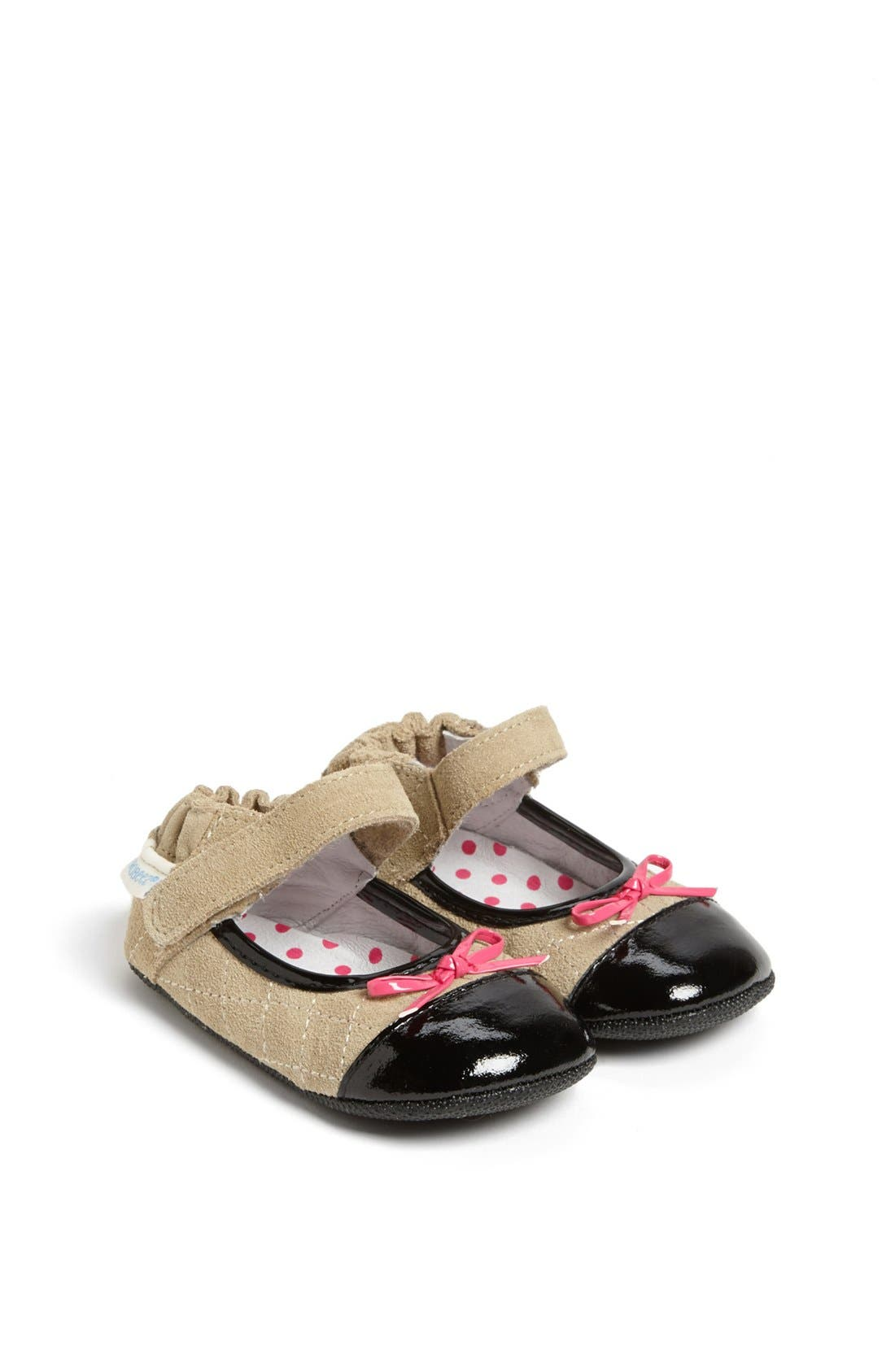 Alternate Image 1 Selected - Robeez® Mini Shoez 'Harper' Mary Jane (Baby & Walker)