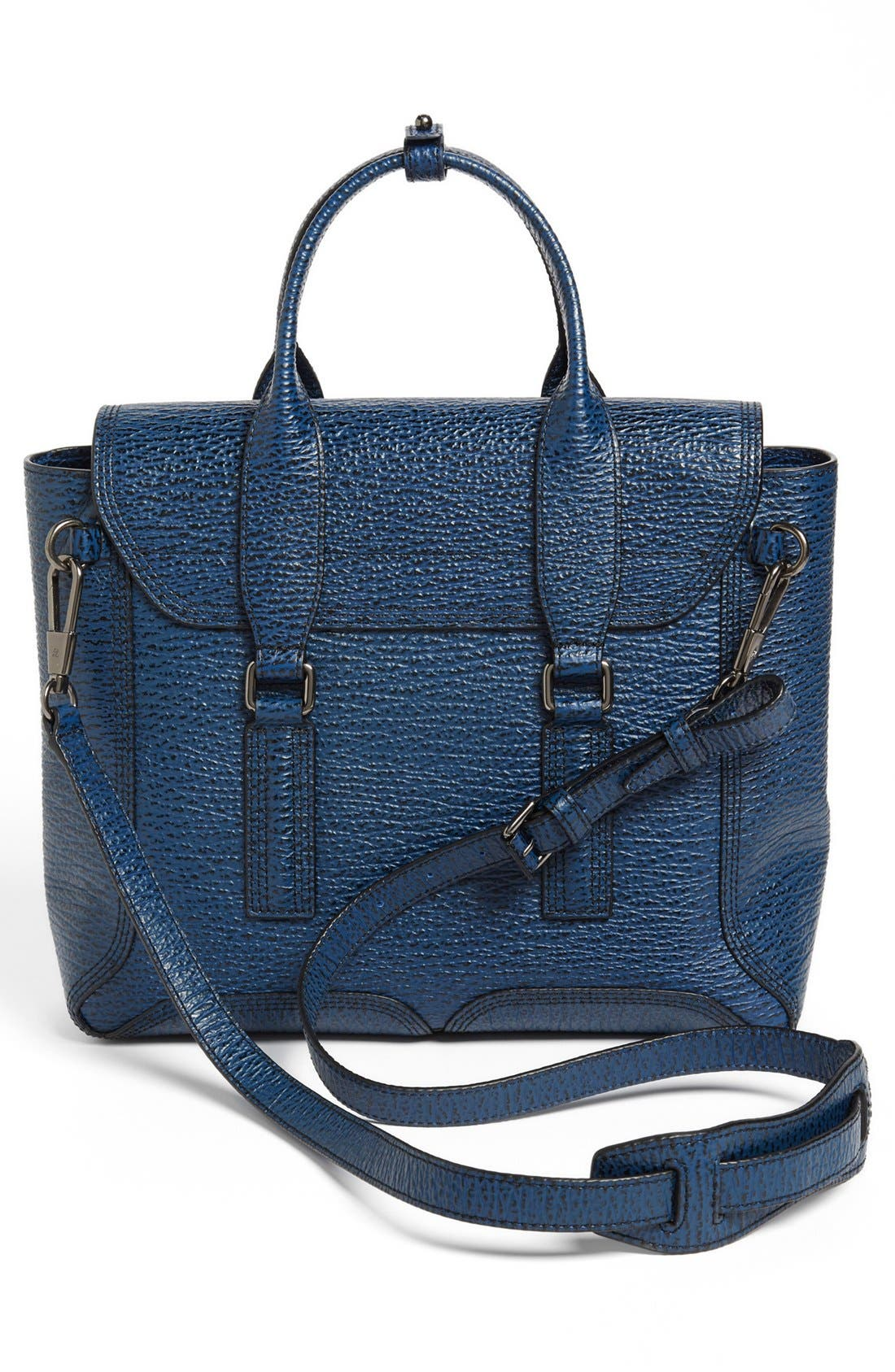 Alternate Image 4  - 3.1 Phillip Lim 'Medium Pashli' Shark Embossed Leather Satchel