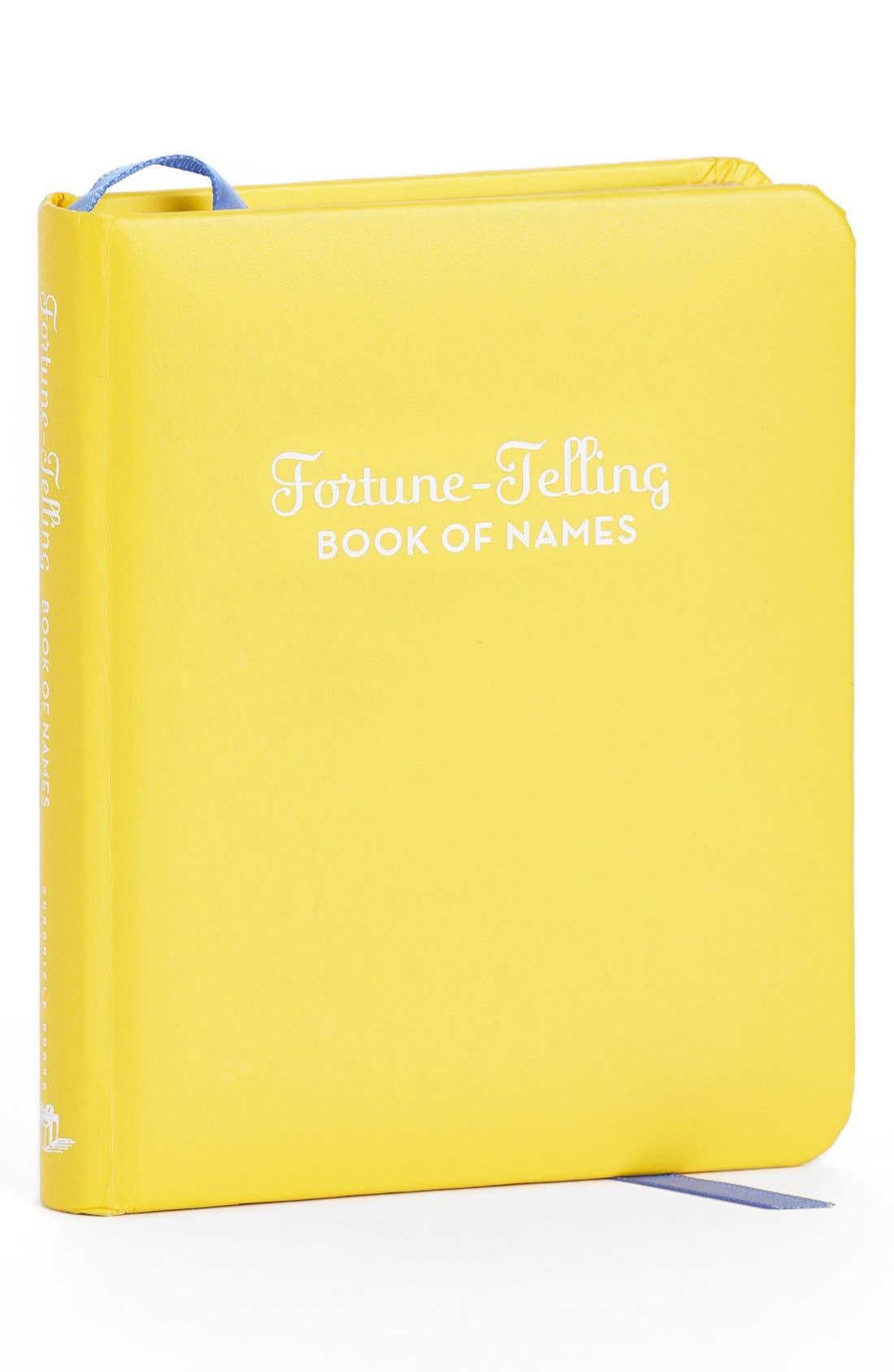 Alternate Image 1 Selected - 'Fortune Telling Book of Names' Book
