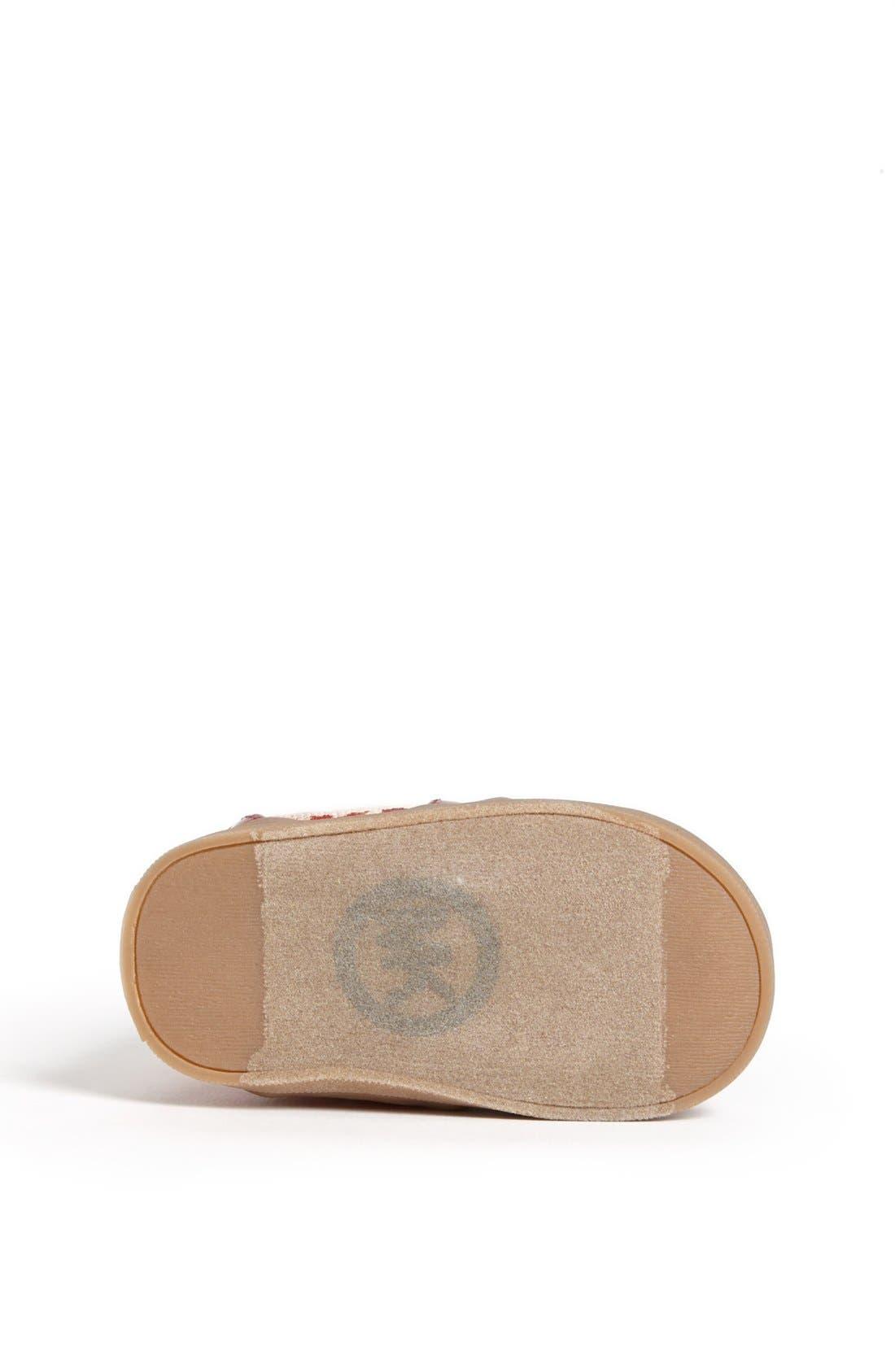 Alternate Image 4  - MICHAEL Michael Kors 'Ivy' Crib Shoe (Baby)