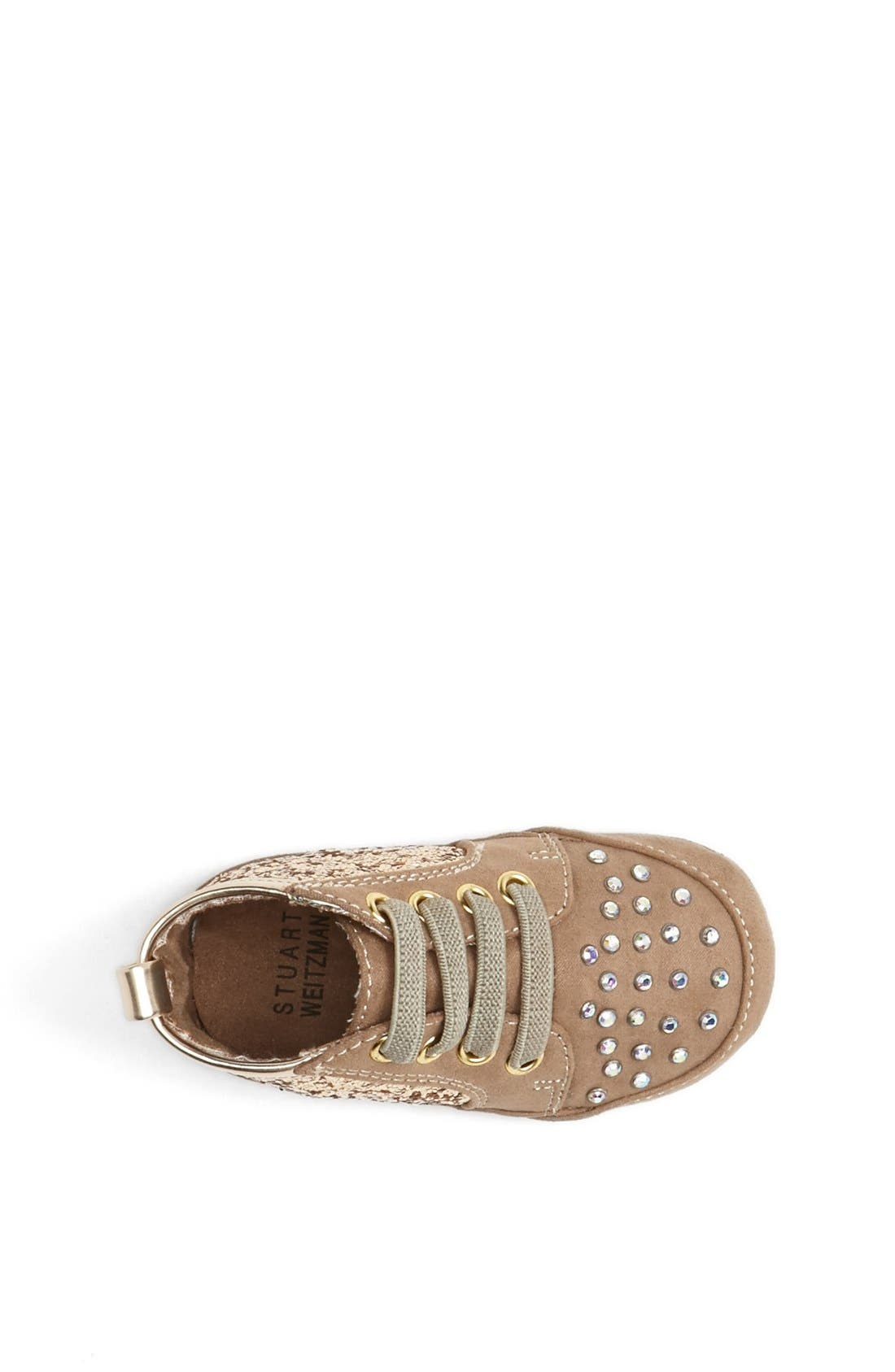 Alternate Image 3  - Stuart Weitzman 'Vance' Crib Shoe (Baby Girls)