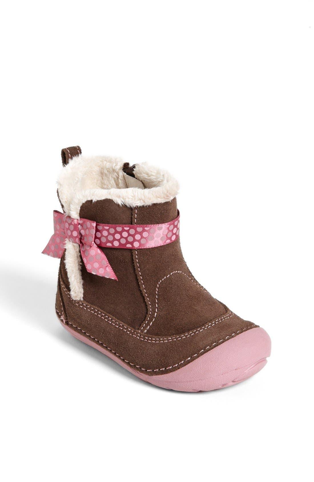 Alternate Image 1 Selected - Stride Rite 'Gellar' Boot (Baby & Walker)