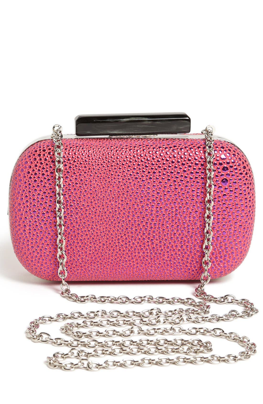 Alternate Image 2  - Expressions NYC Pebbled Box Clutch