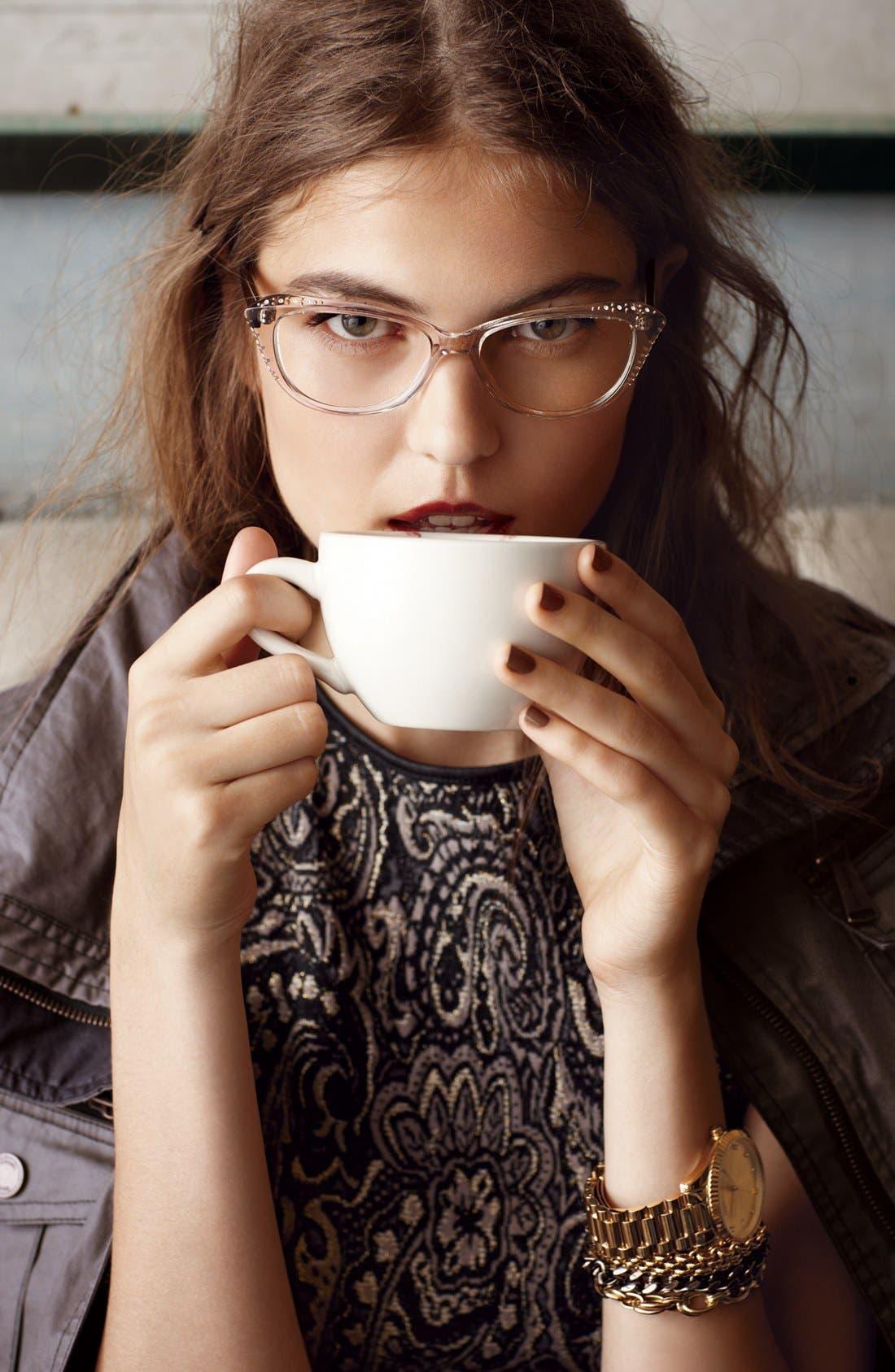 Alternate Image 3  - Corinne McCormack 'Belle' 51mm Reading Glasses