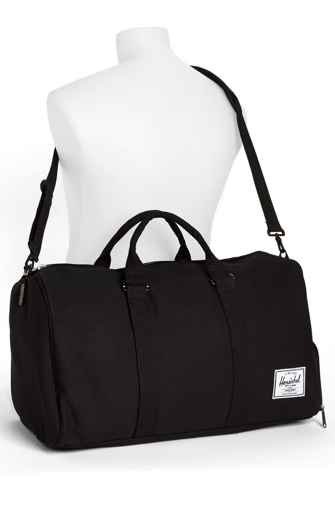 Alternate Image 4  - Herschel Supply Co. 'Novel' Canvas Duffel Bag