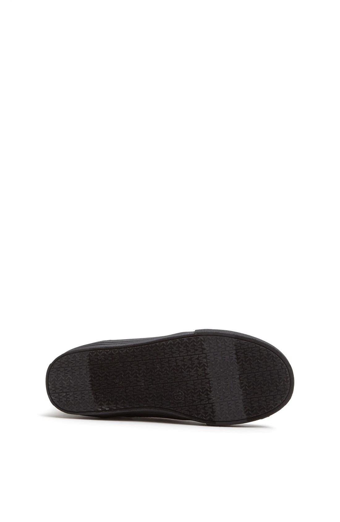 Alternate Image 4  - MICHAEL Michael Kors 'Ivy' High Top Sneaker (Walker, Toddler, Little Kid & Big Kid)