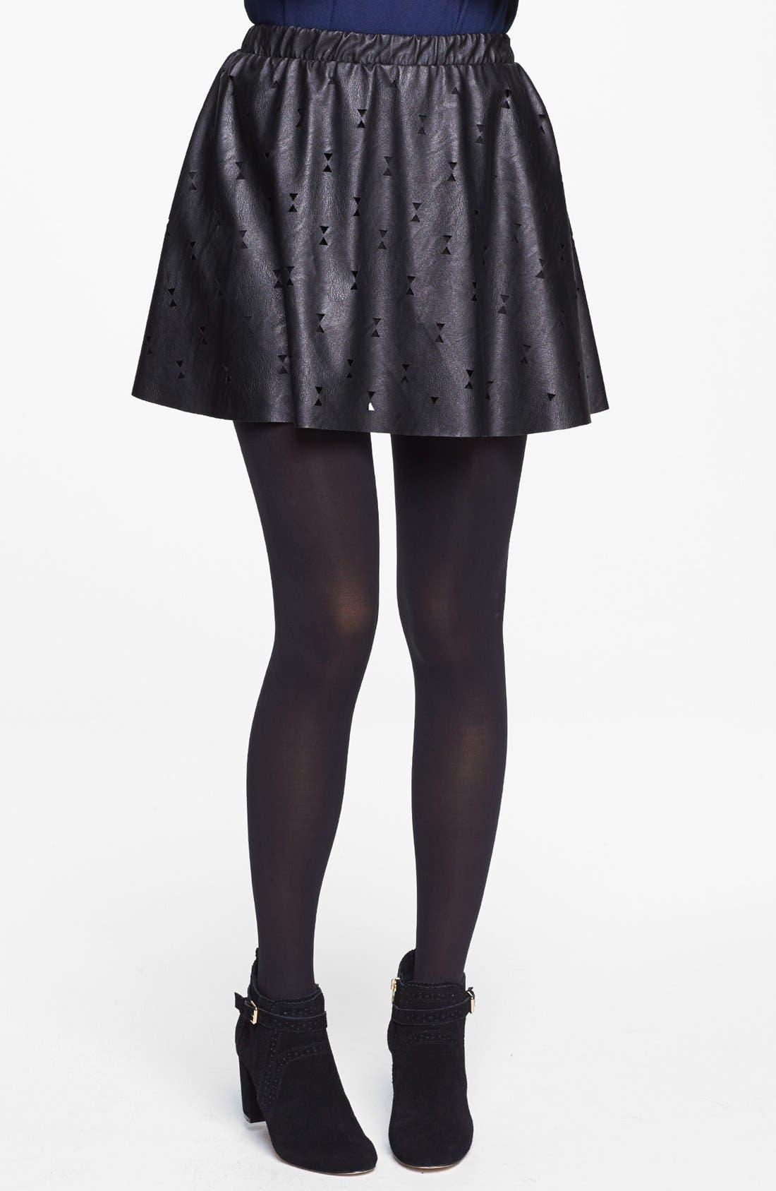 Main Image - BP. Opaque Tights (Juniors)