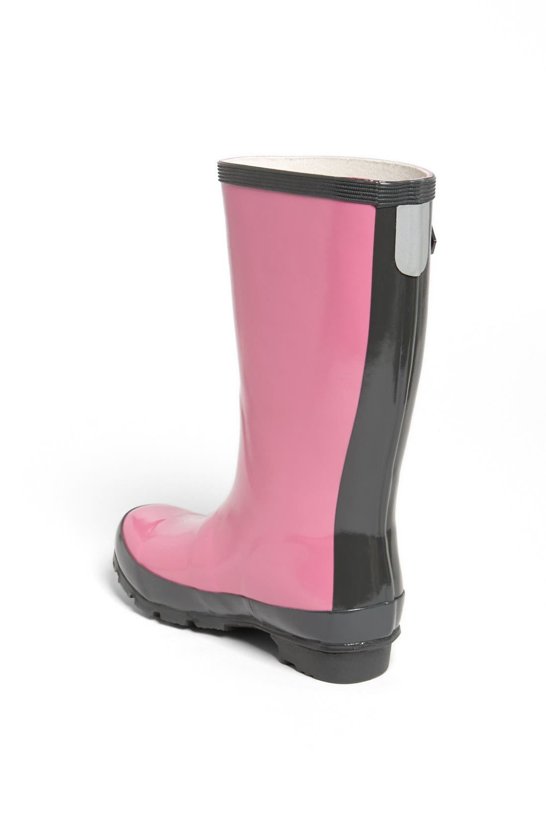 Alternate Image 2  - Hatley 'Orchid Lily' Rain Boot (Toddler & Little Kid)