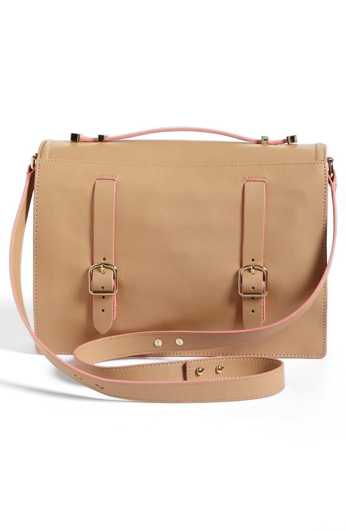 Alternate Image 4  - Loeffler Randall 'Rider' Leather Satchel
