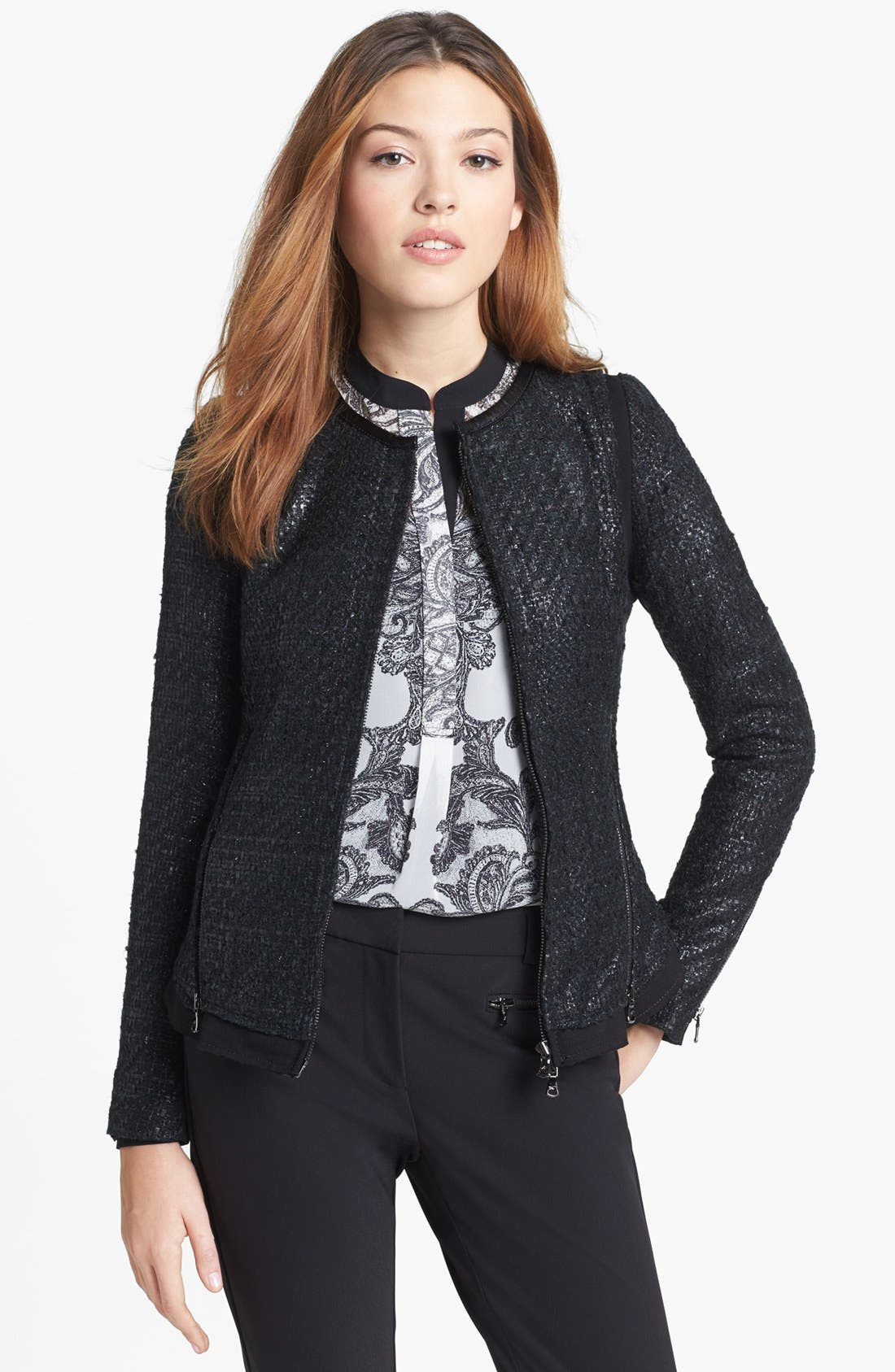 Alternate Image 1 Selected - Kenneth Cole New York 'Genevieve' Jacket (Petite)