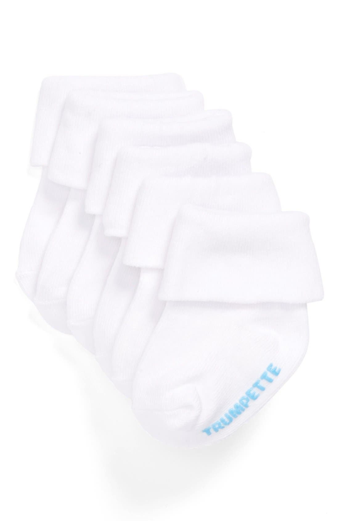 Alternate Image 1 Selected - Trumpette Socks (3-Pack) (Baby Boys)