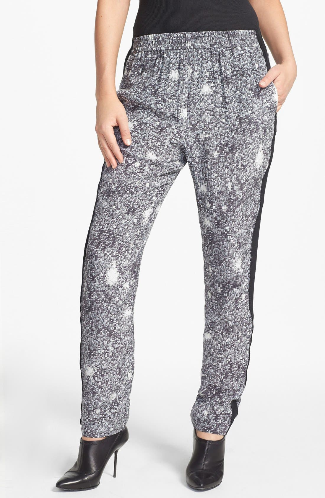 Alternate Image 1 Selected - MARC BY MARC JACOBS 'Twilight' Print Silk Pants