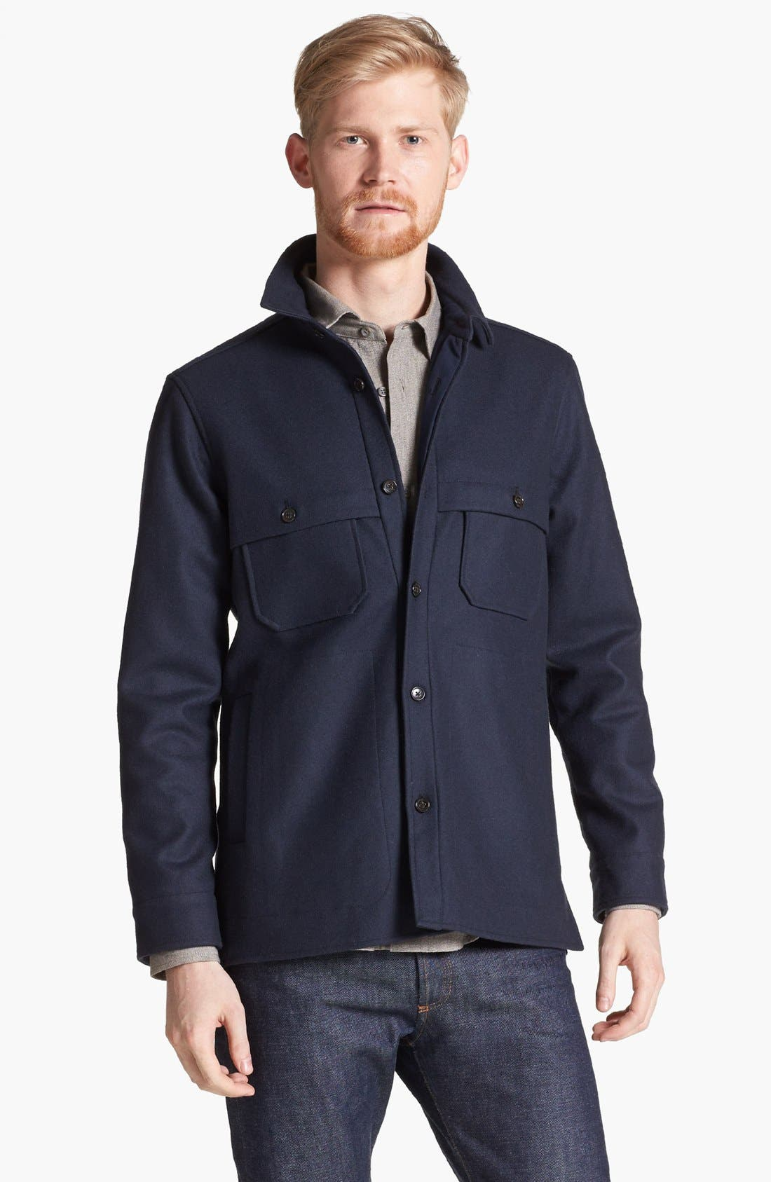 Main Image - Pendleton Portland Collection 'Scappoose' Lightweight Wool Jacket