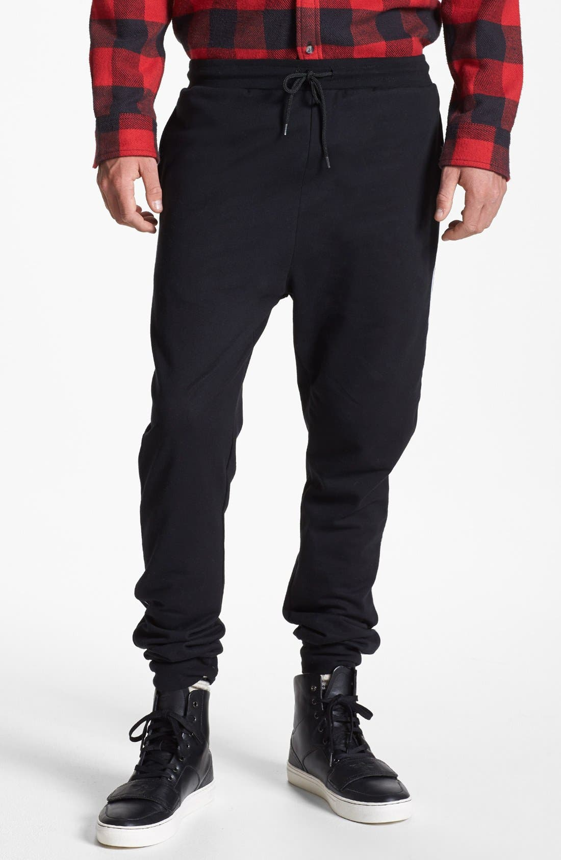 Alternate Image 1 Selected - Topman Cotton Jogger Pants