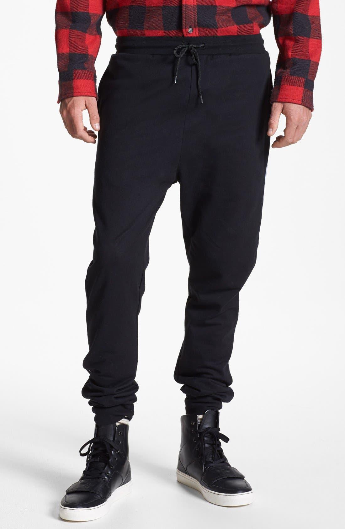 Main Image - Topman Cotton Jogger Pants