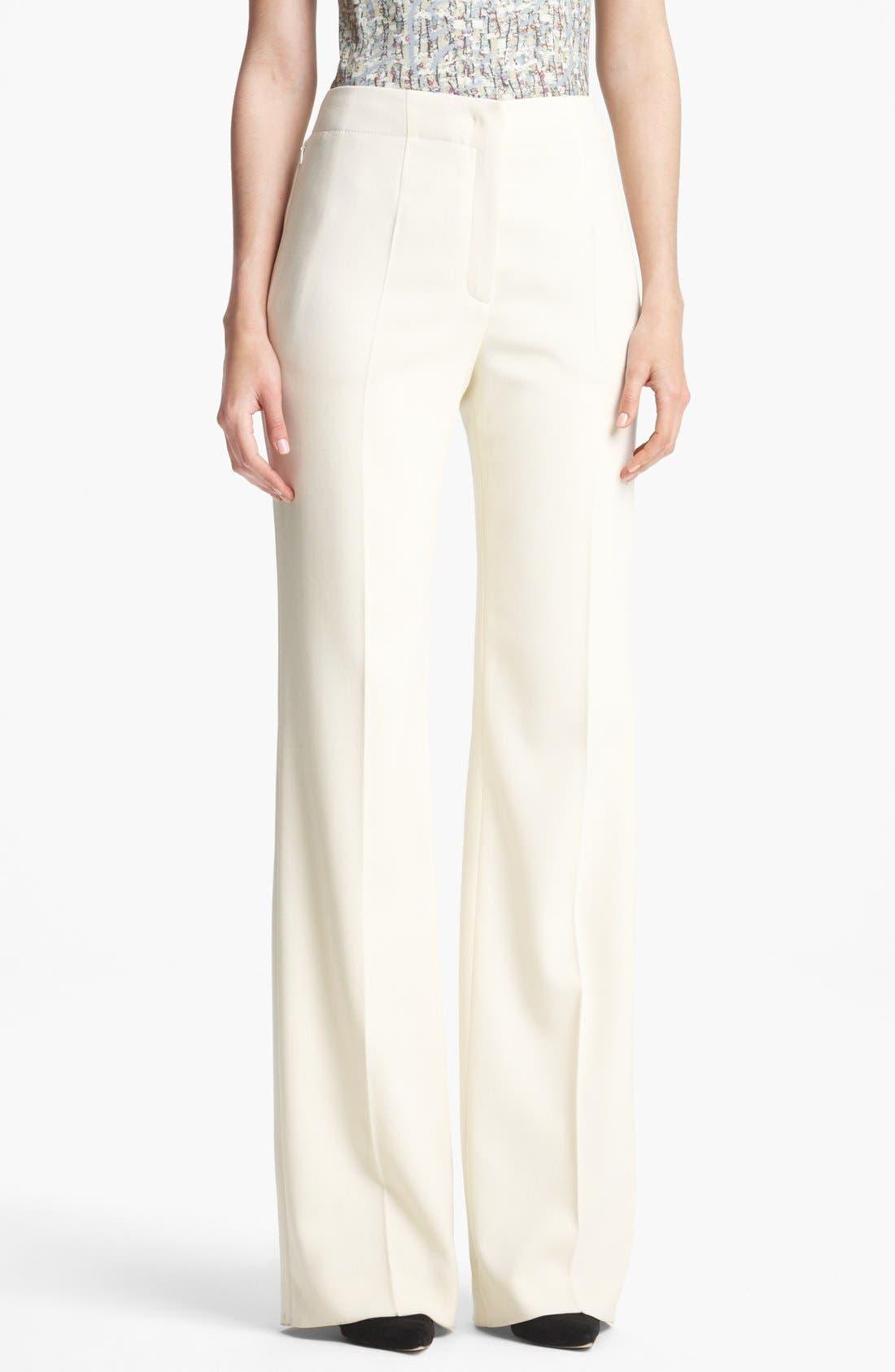 Alternate Image 1 Selected - ESCADA 'Columbo' Wide Leg Stretch Wool Pants