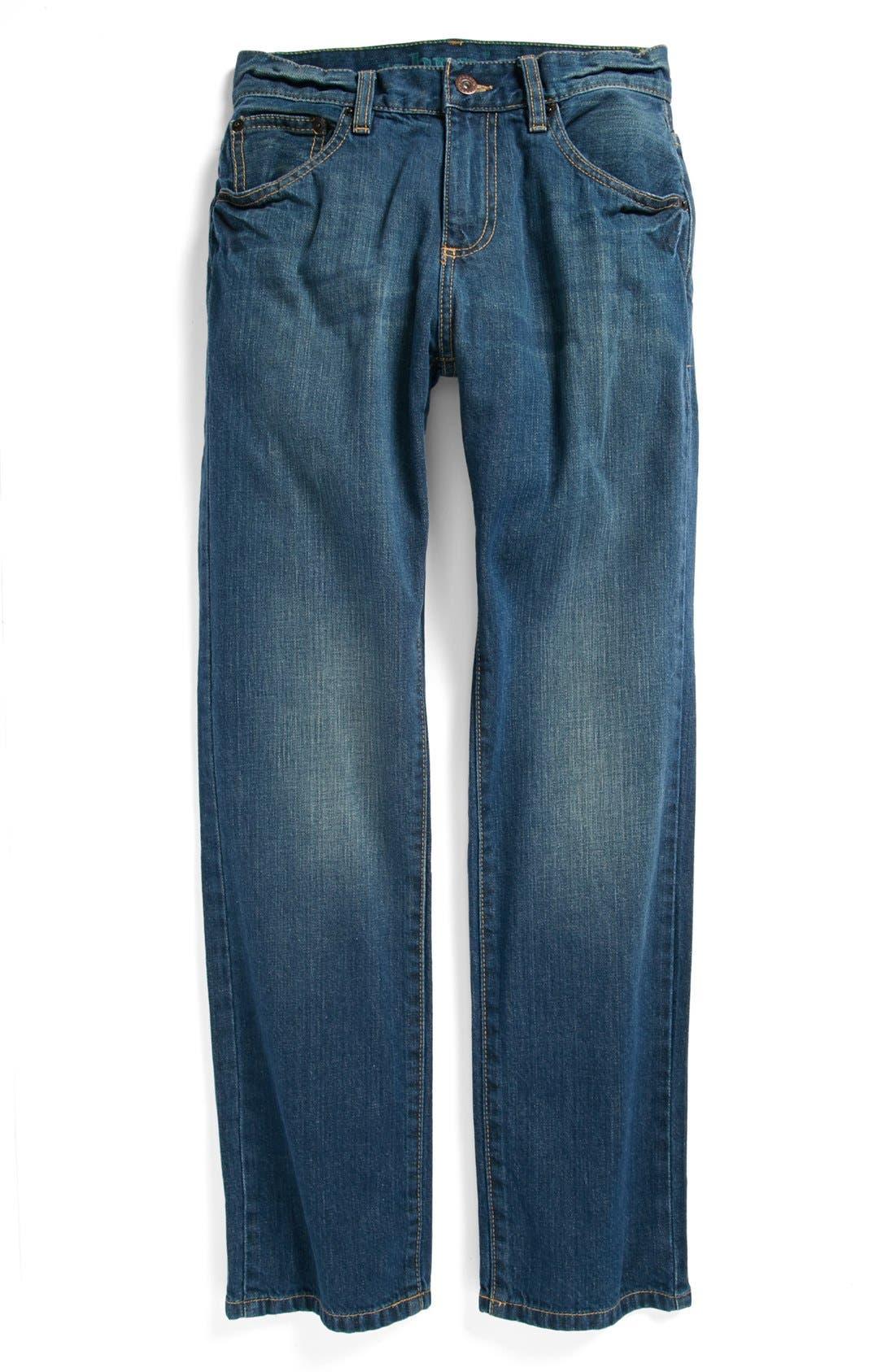 Alternate Image 2  - Johnnie B by Boden Regular Jeans (Big Boys)