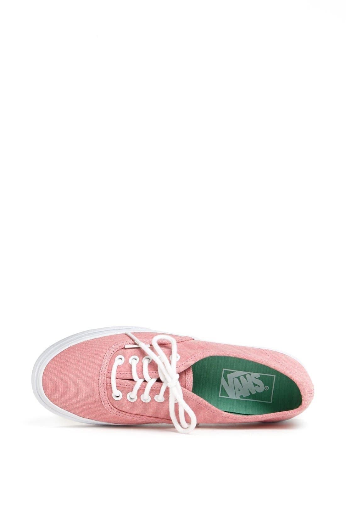 Alternate Image 3  - Vans 'Authentic - Slim' Sneaker (Women)