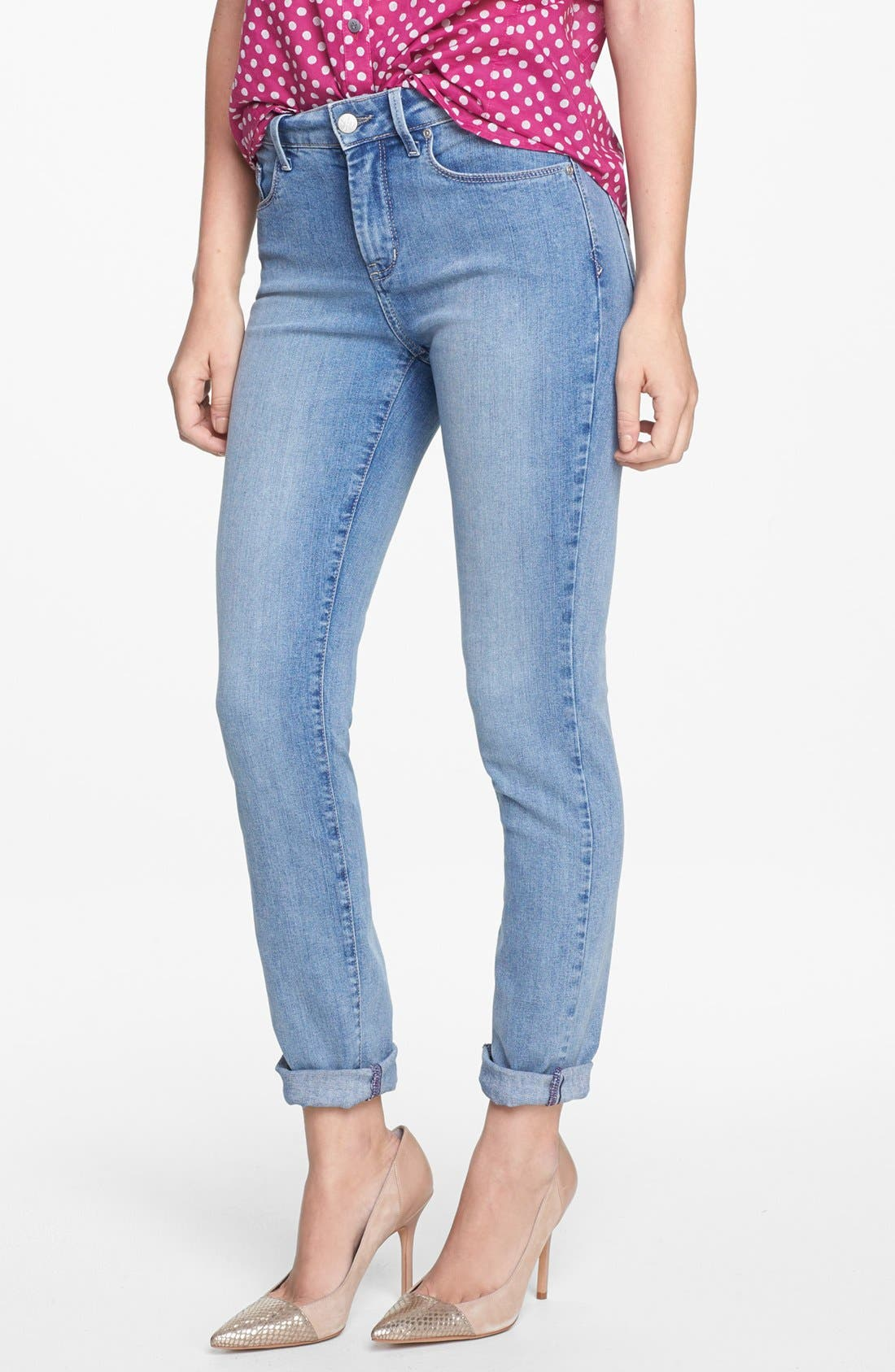 Alternate Image 1 Selected - NYDJ 'Anabelle' Stretch Skinny Jeans (Sacramento)