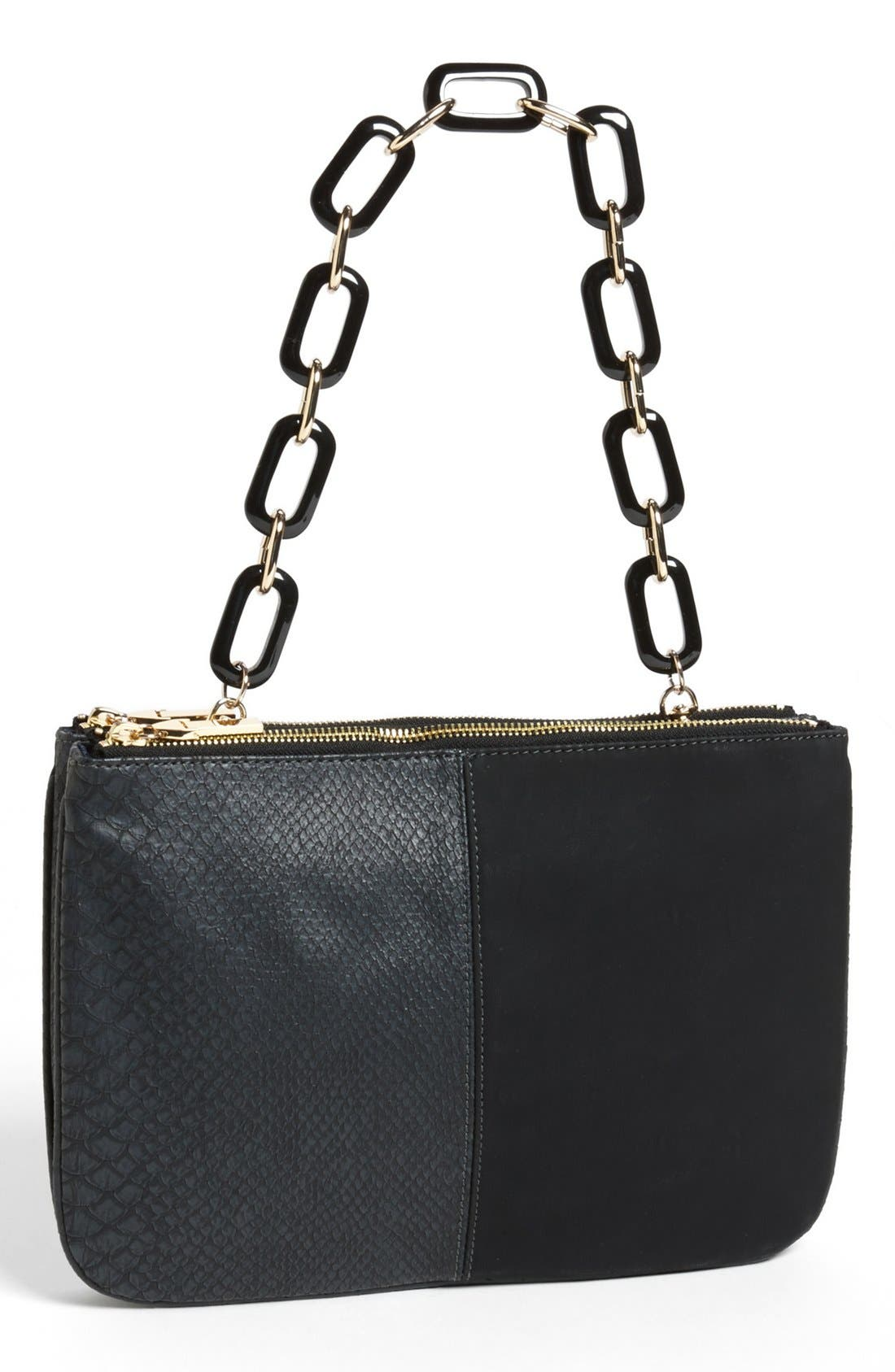 Alternate Image 1 Selected - French Connection 'VIP Party' Chain Clutch