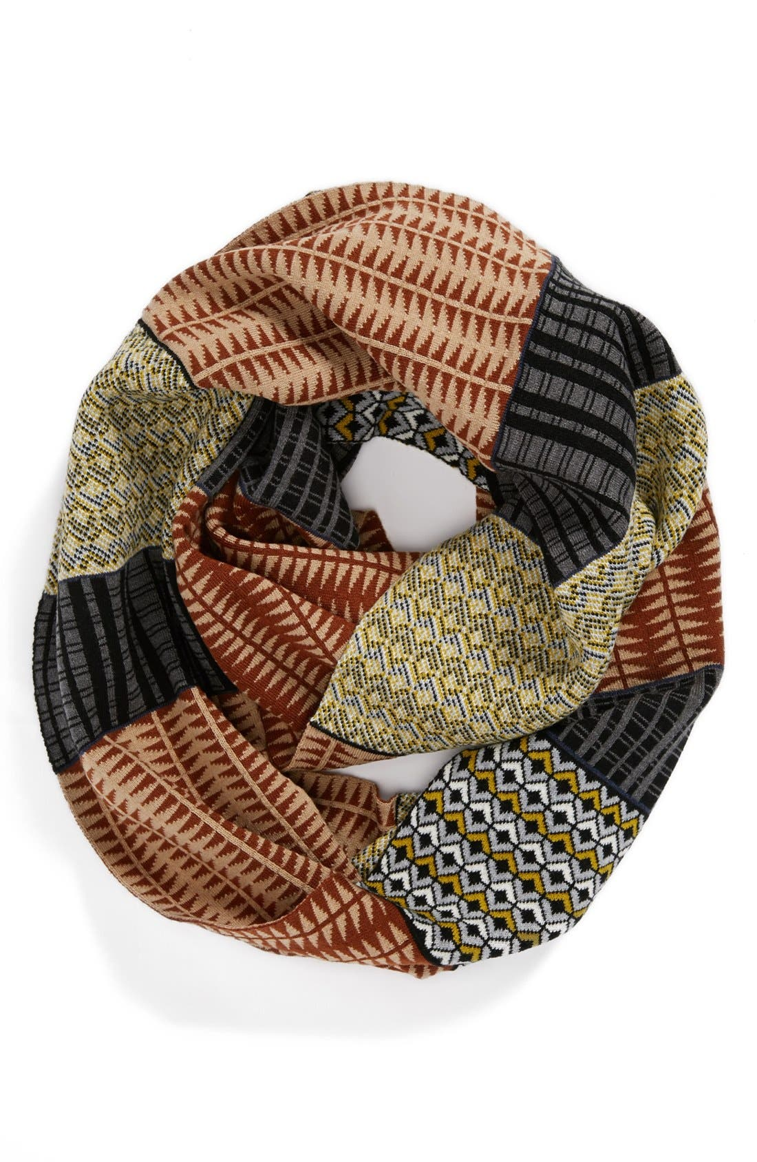 Alternate Image 1 Selected - Echo 'Pattern Blocking' Infinity Scarf